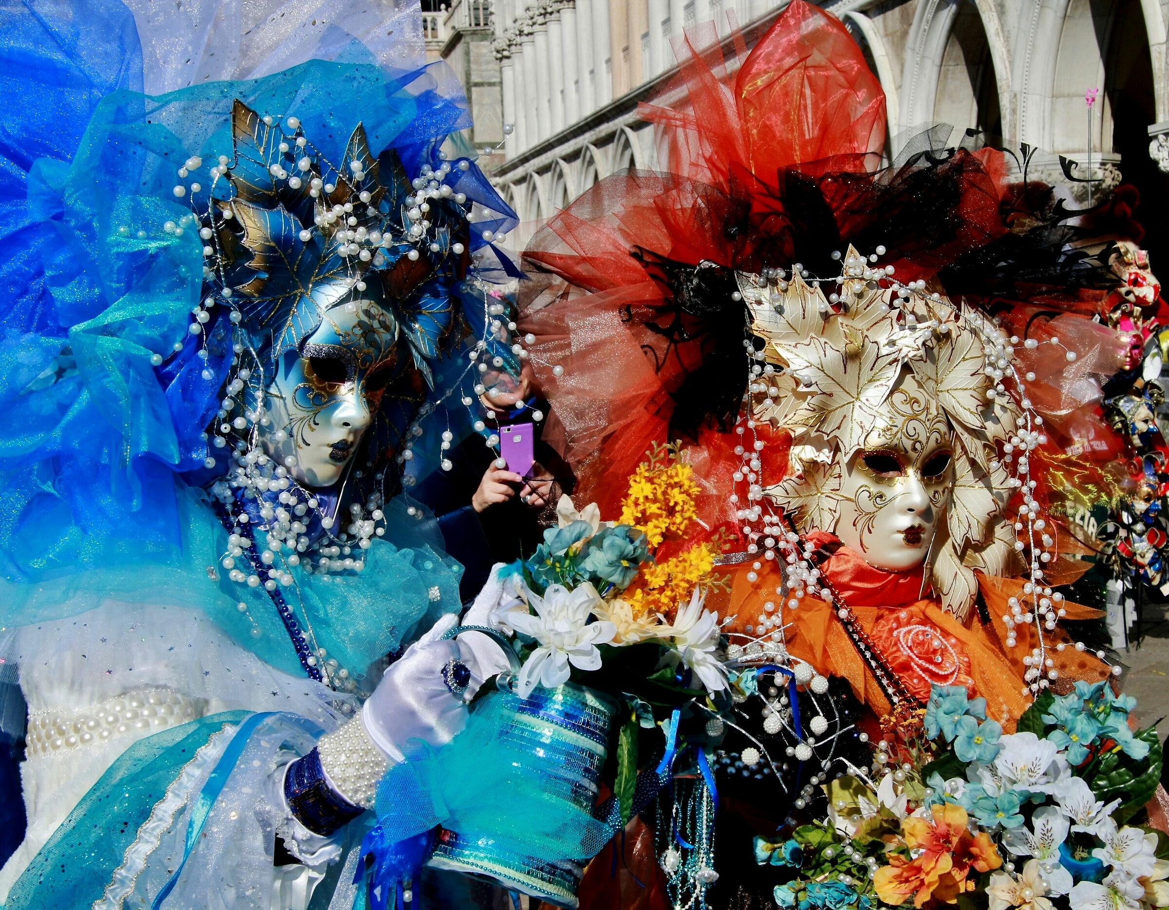 Masks in Venice...