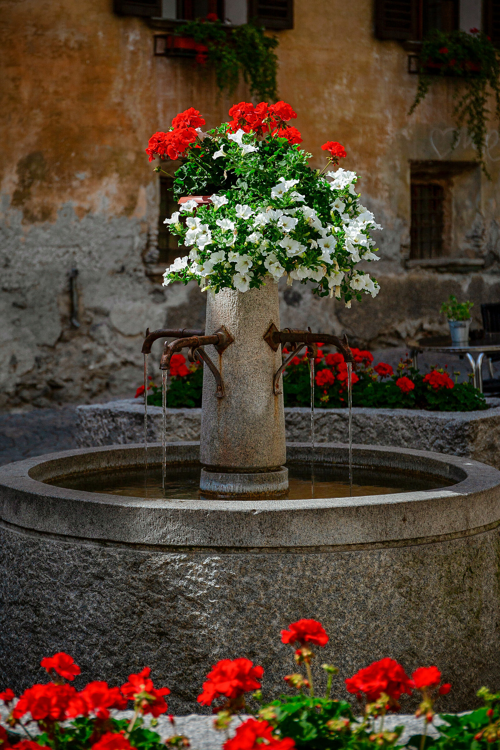 Flower fountain....