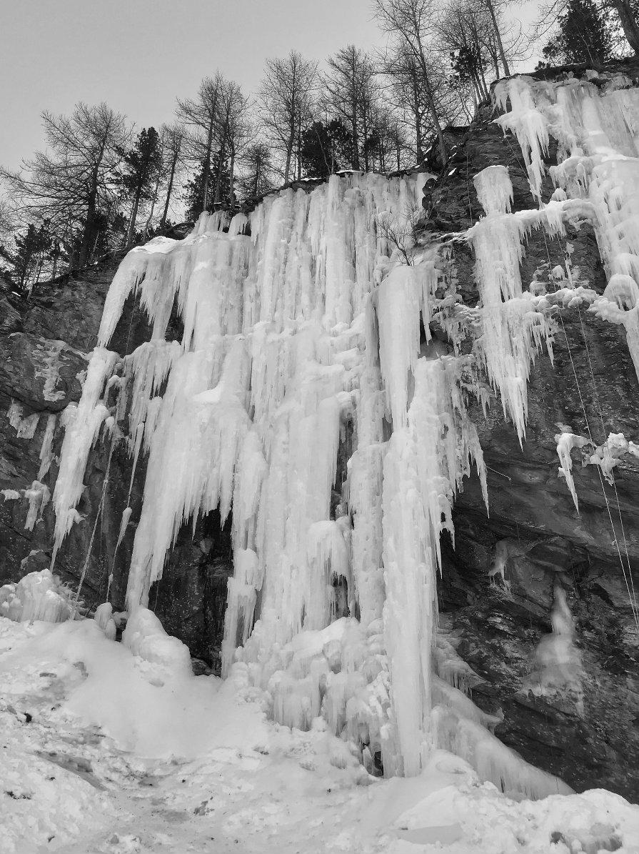Climbing Waterfalls...