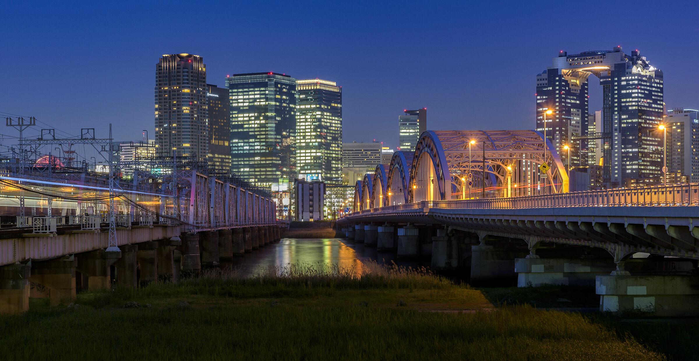 Blue Hour in Osaka...