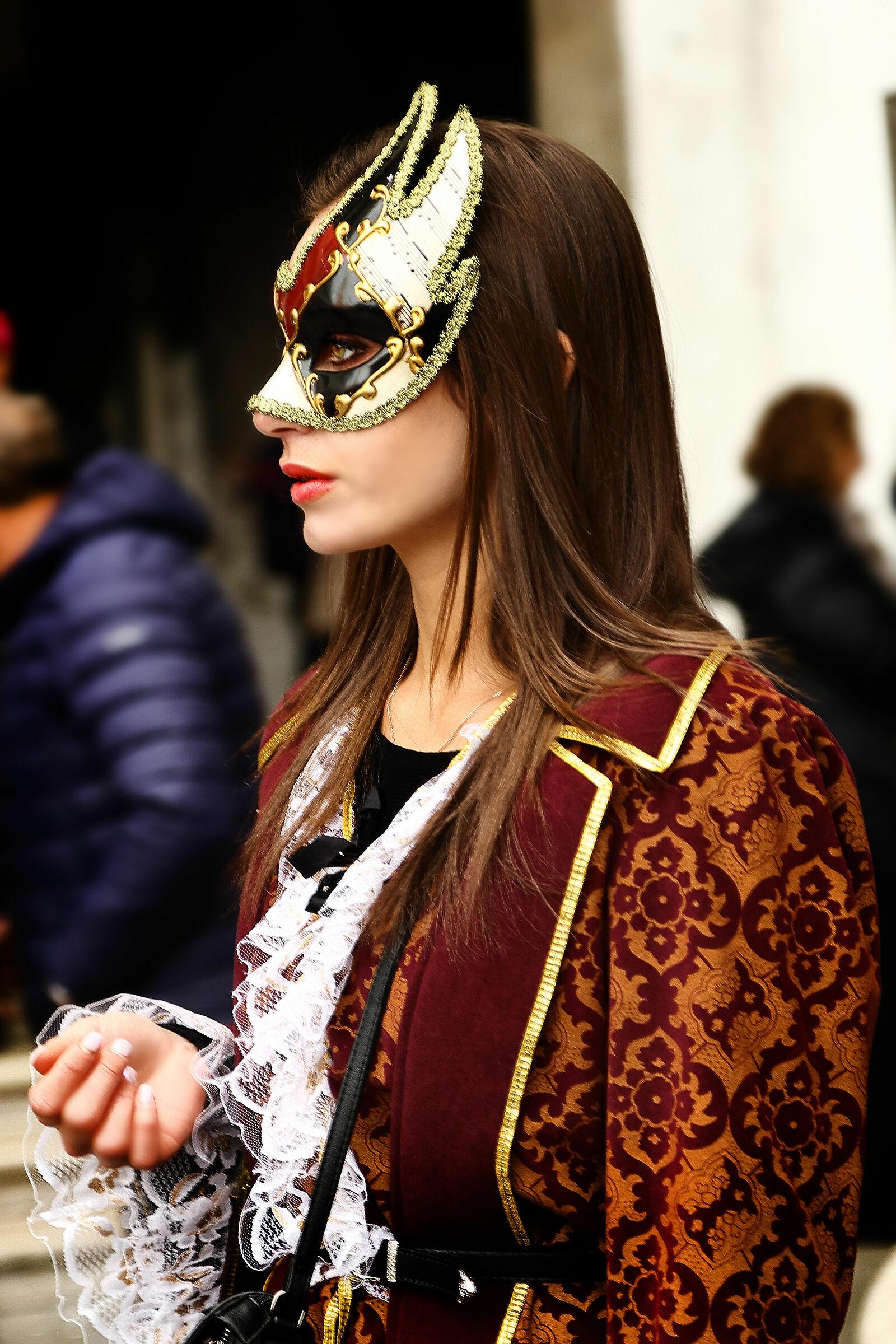 Venezia , il carnevale...