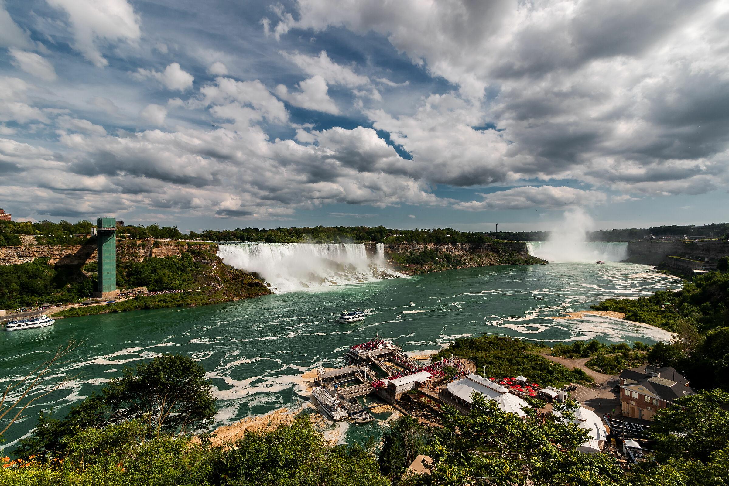 Niagara Falls...