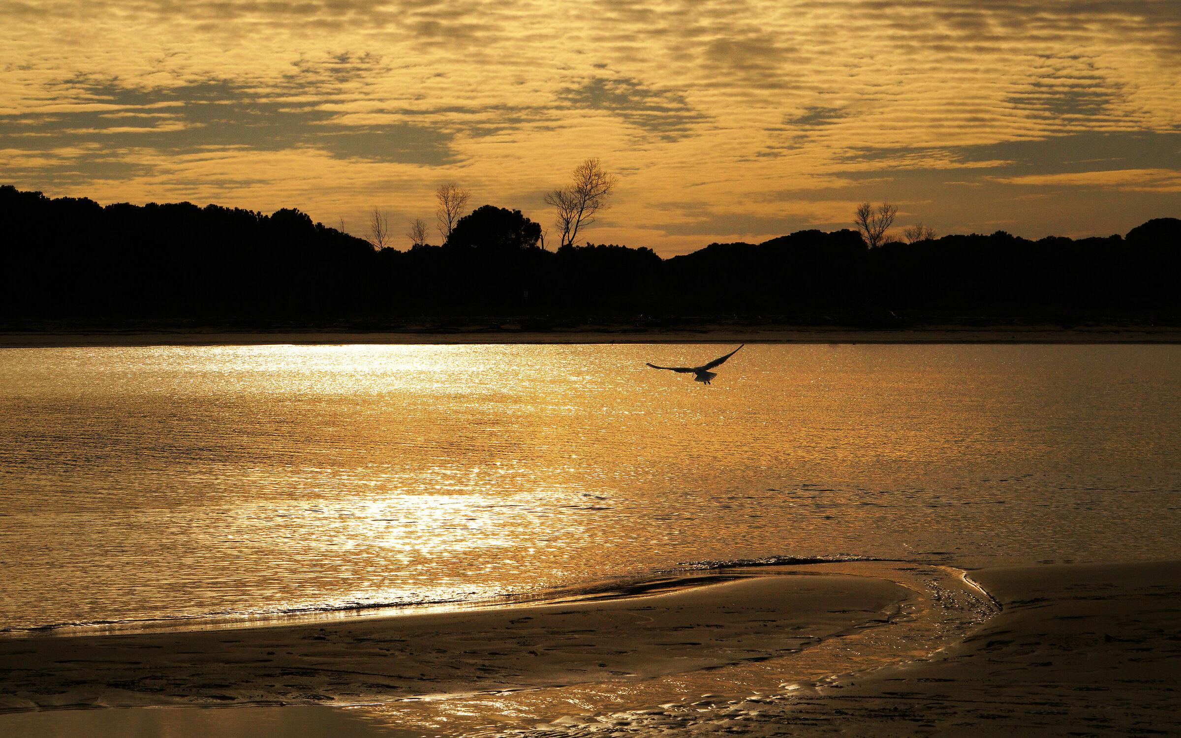 .... tramonti all'estremo nord del Mediterraneo.......