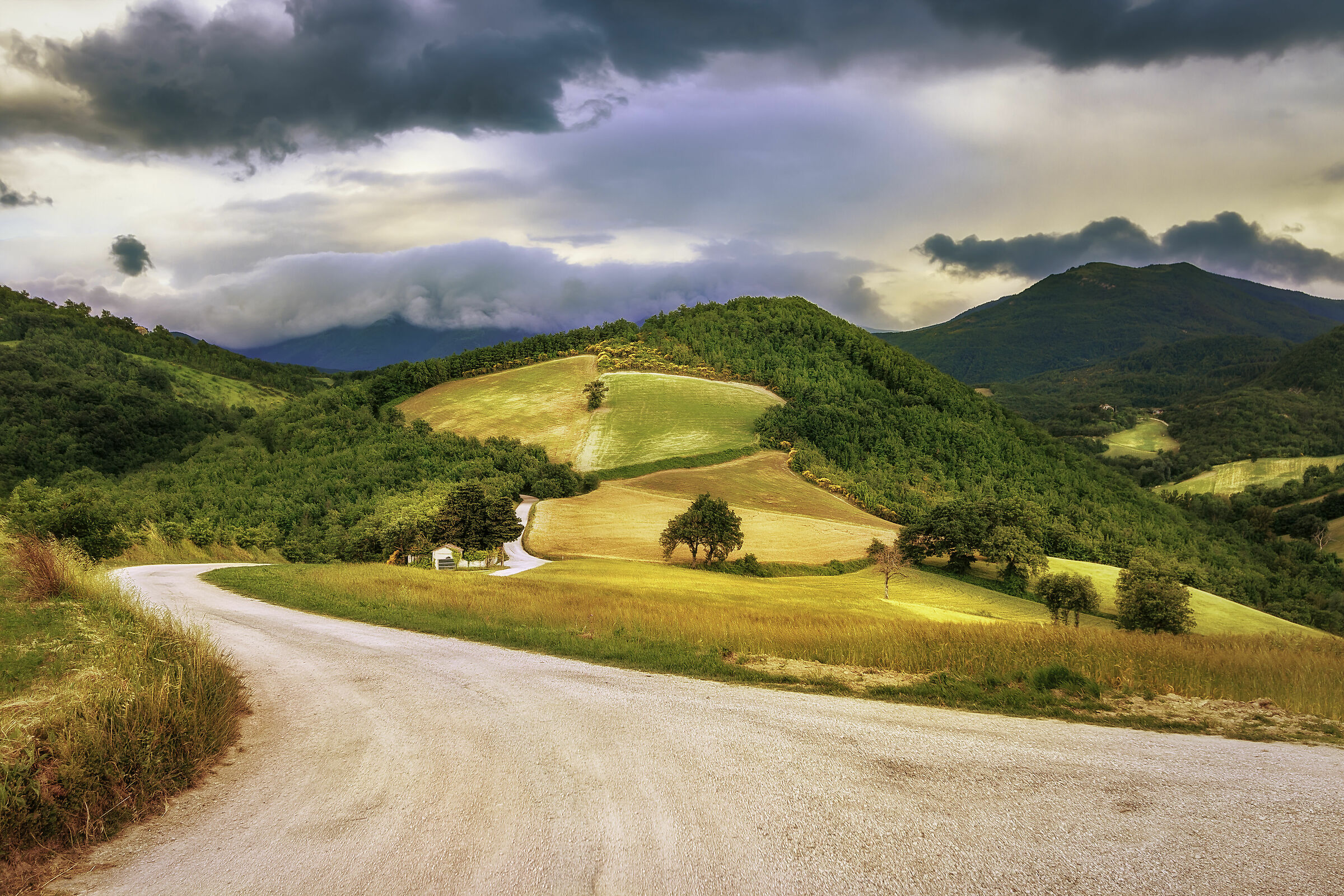 The hills of Raphael.......