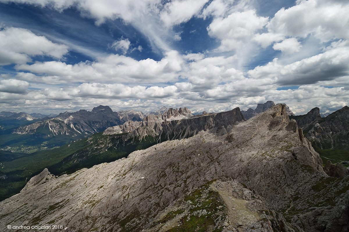 Panorama from Nuvolau...