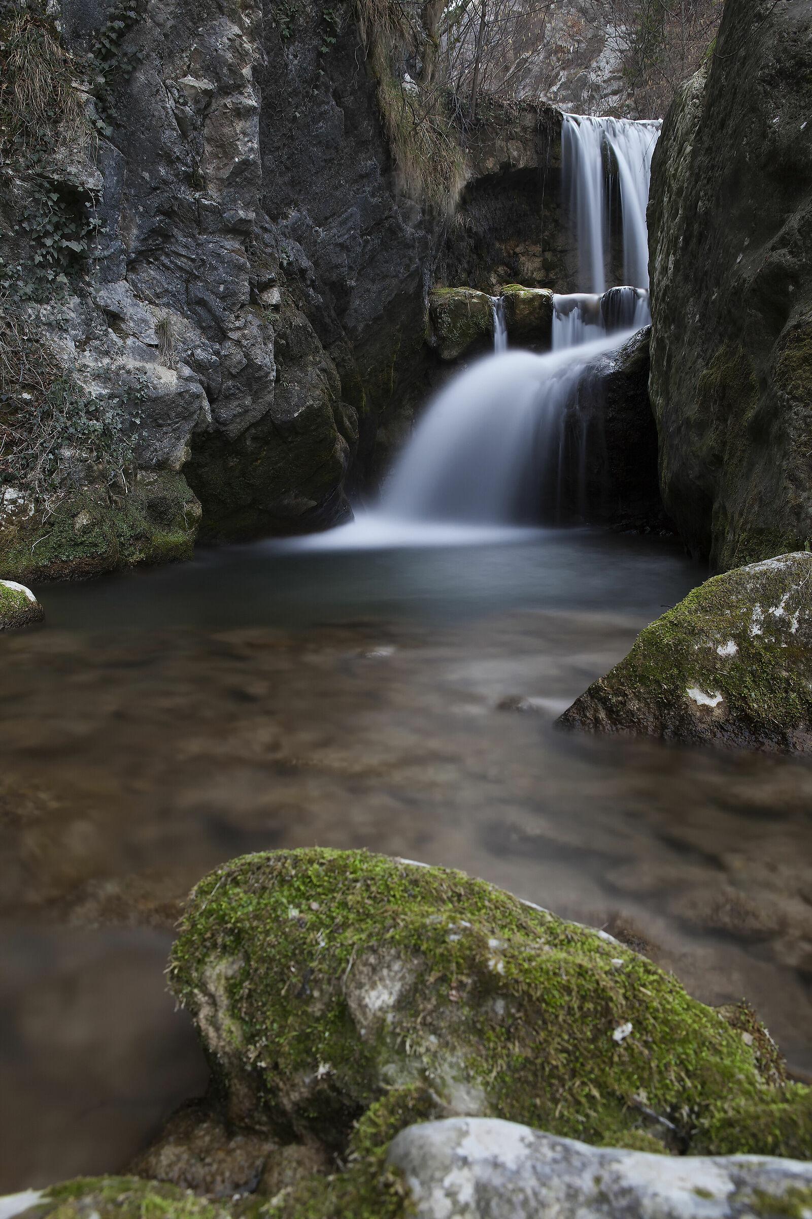 Cascata torrente Arione...