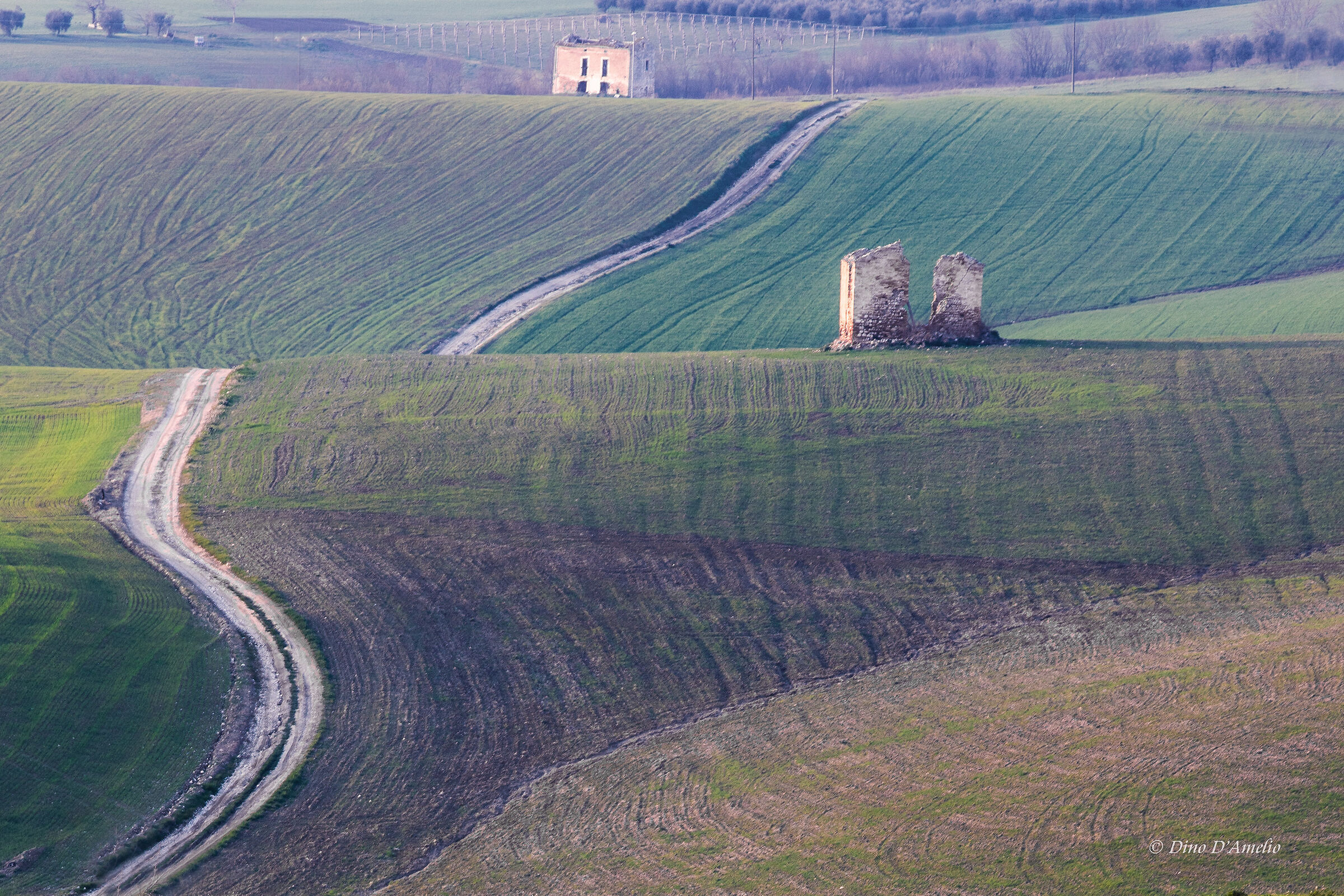 ruderi nelle campagne abruzzesi...
