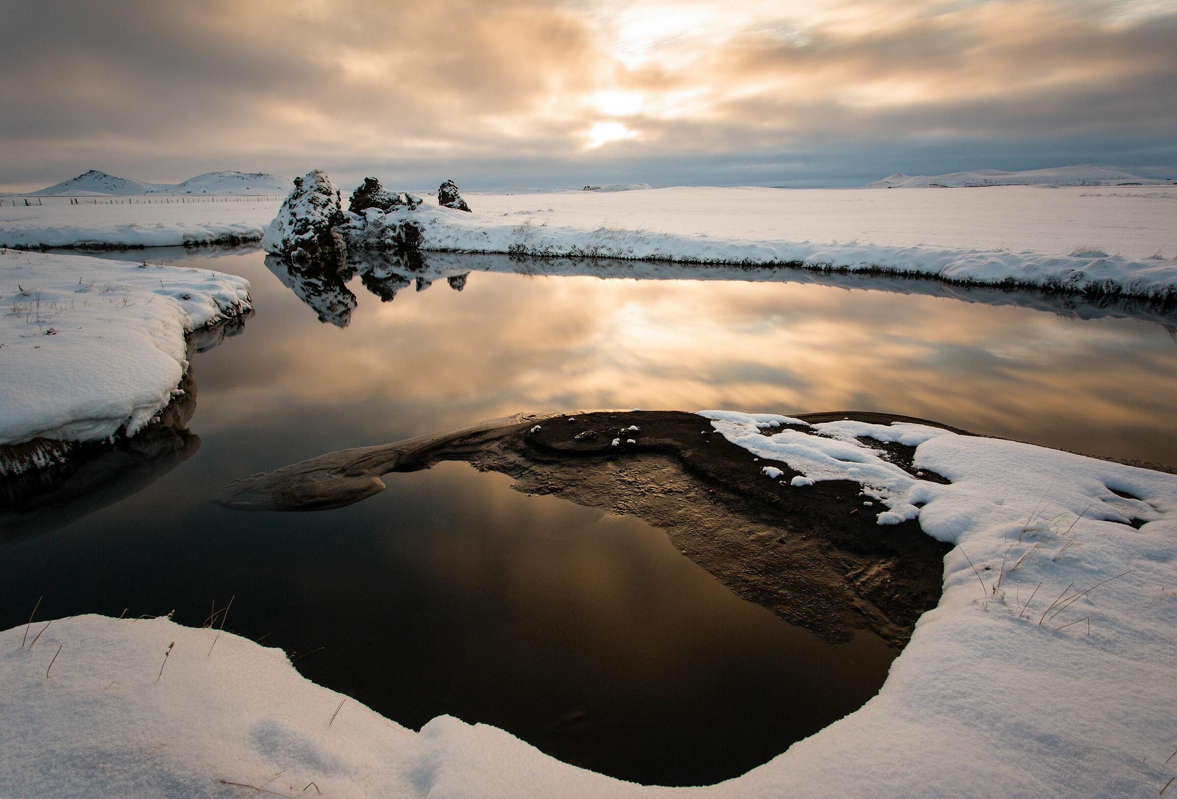 Lake Myvatn...
