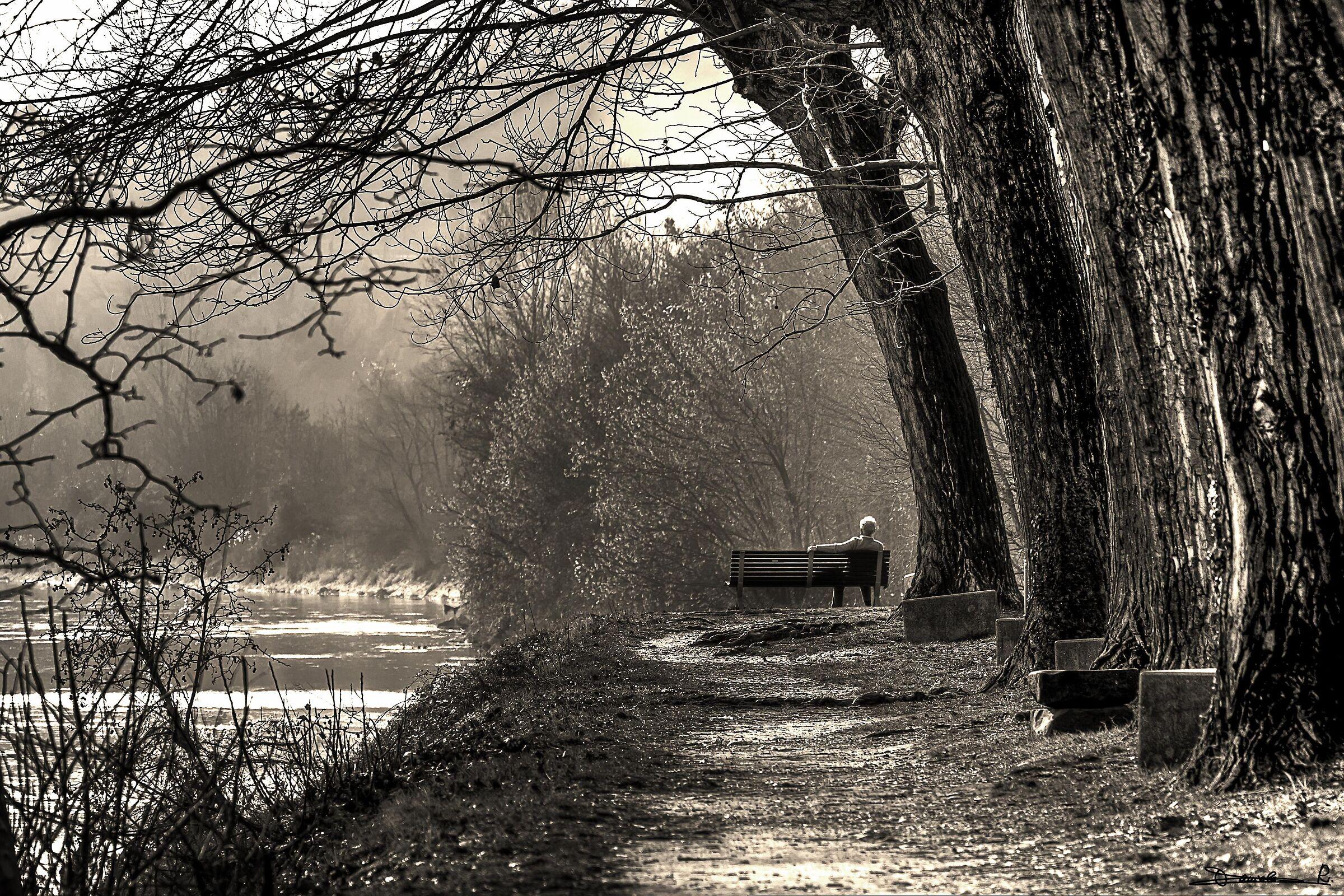 Siediti sulla riva del fiume e aspetta..........