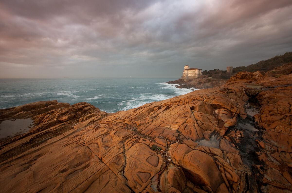 The rocks of Calafuria...