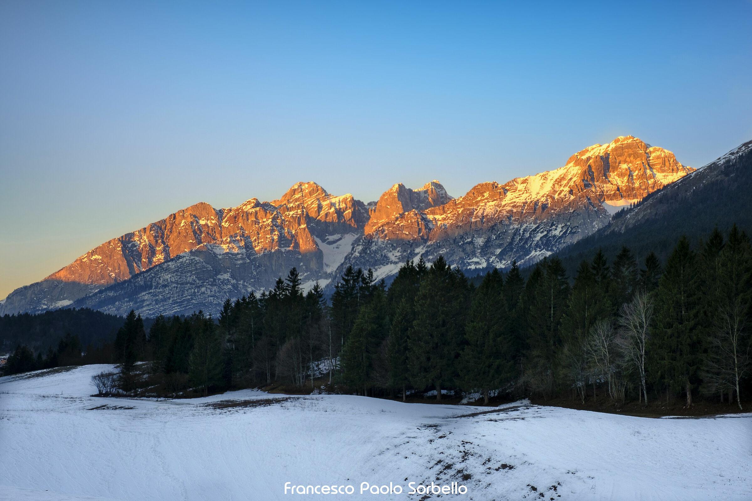 Sunrise Dolomites...