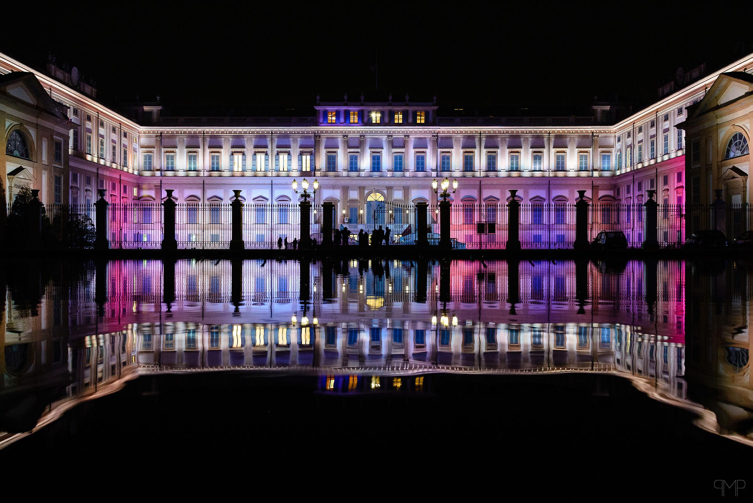 Villa Reale at Night...