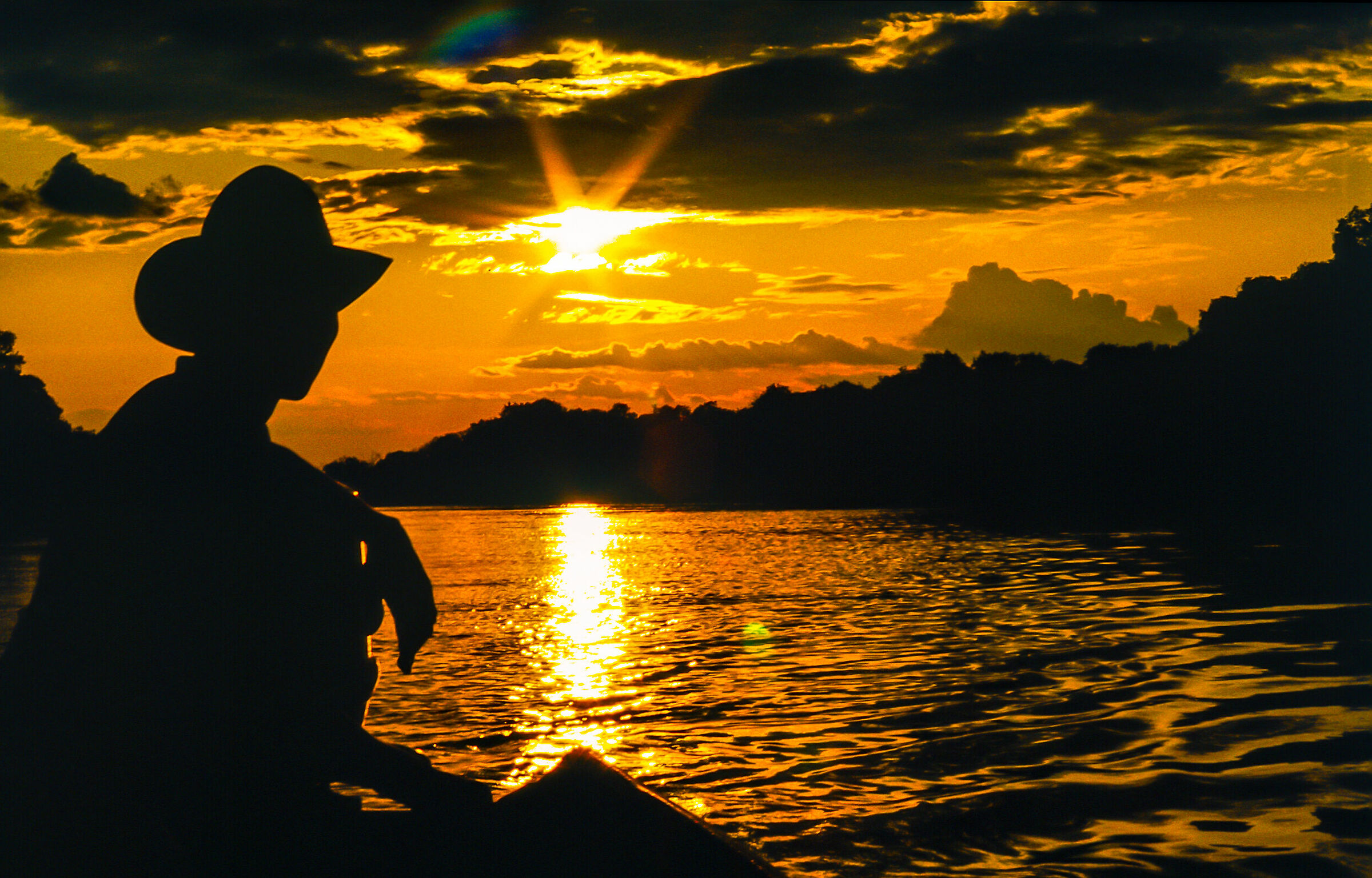 Sunset on the River...