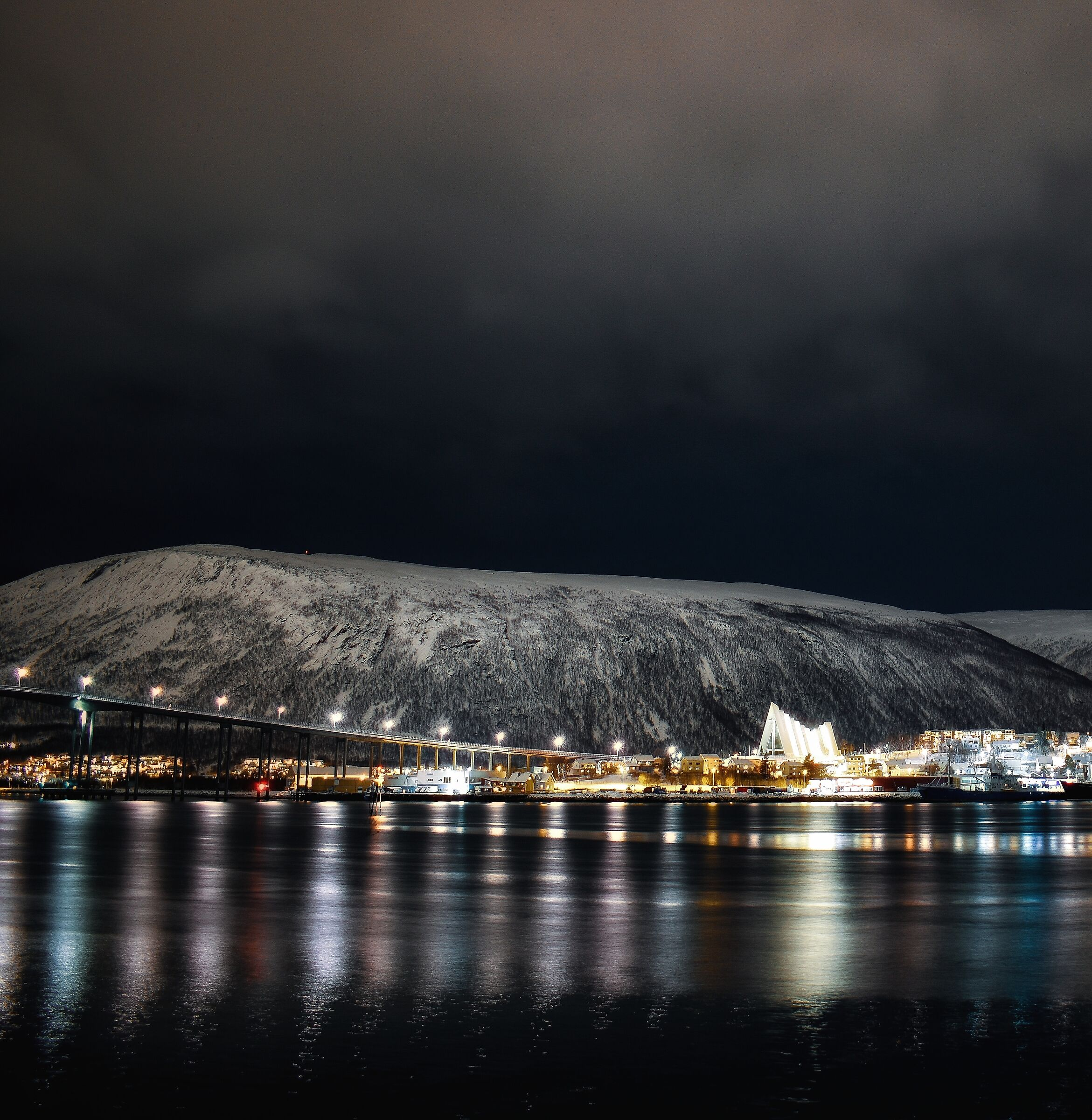 Tromsø by night...