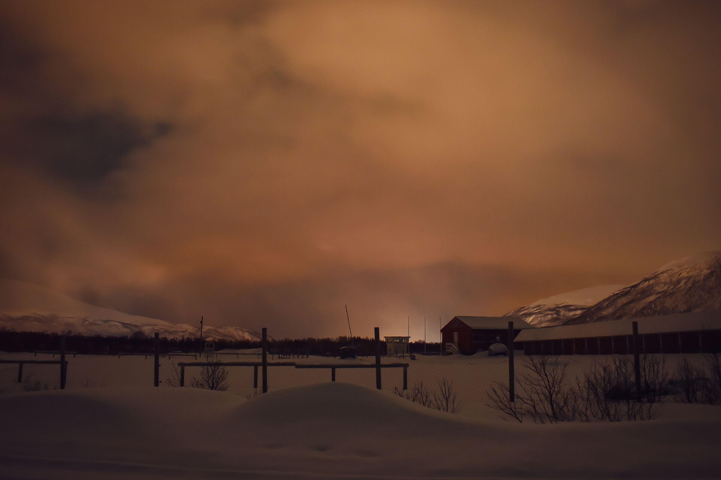 Dispersi da qualche parte in Norvegia...