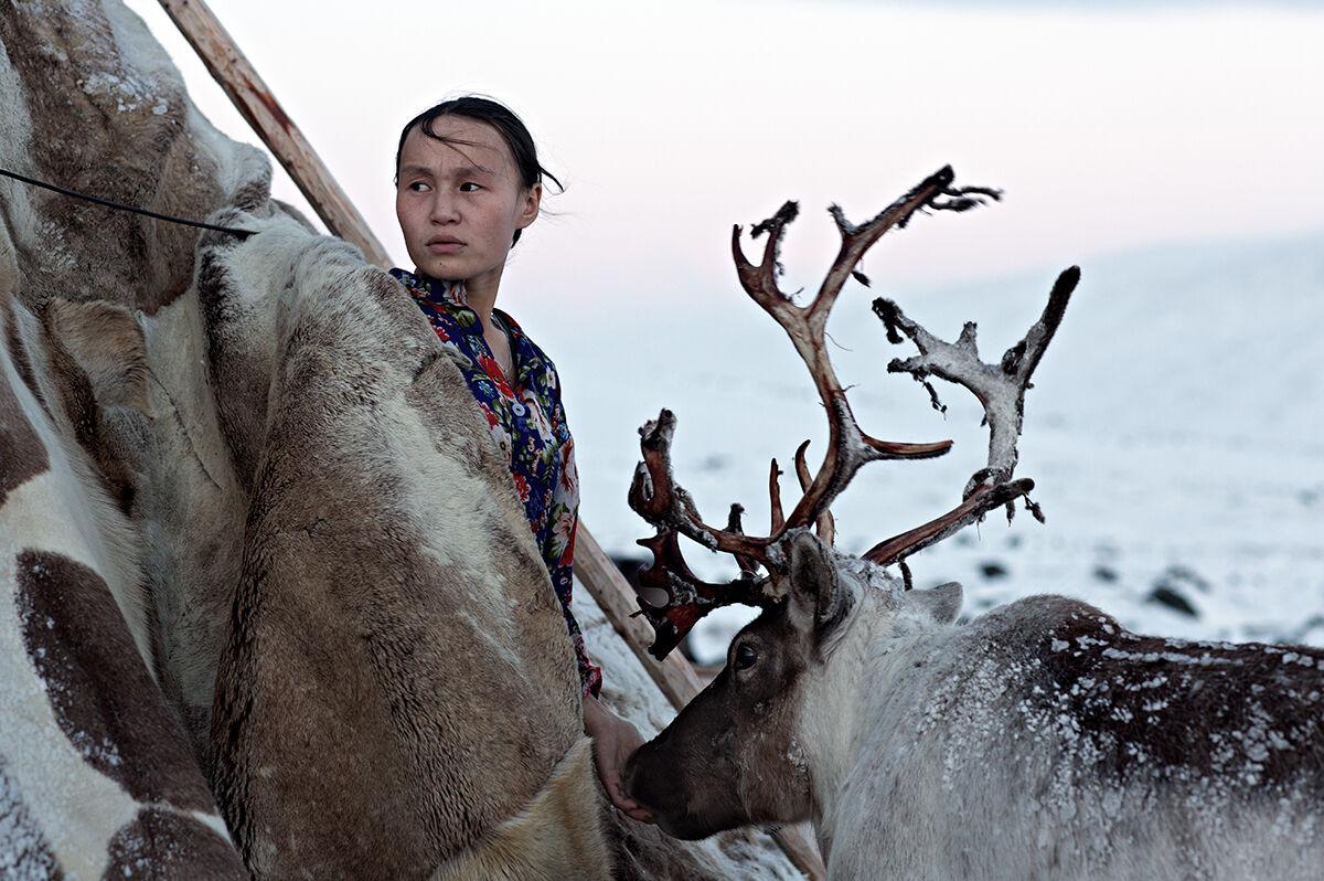Allevatori di renne. Siberia...