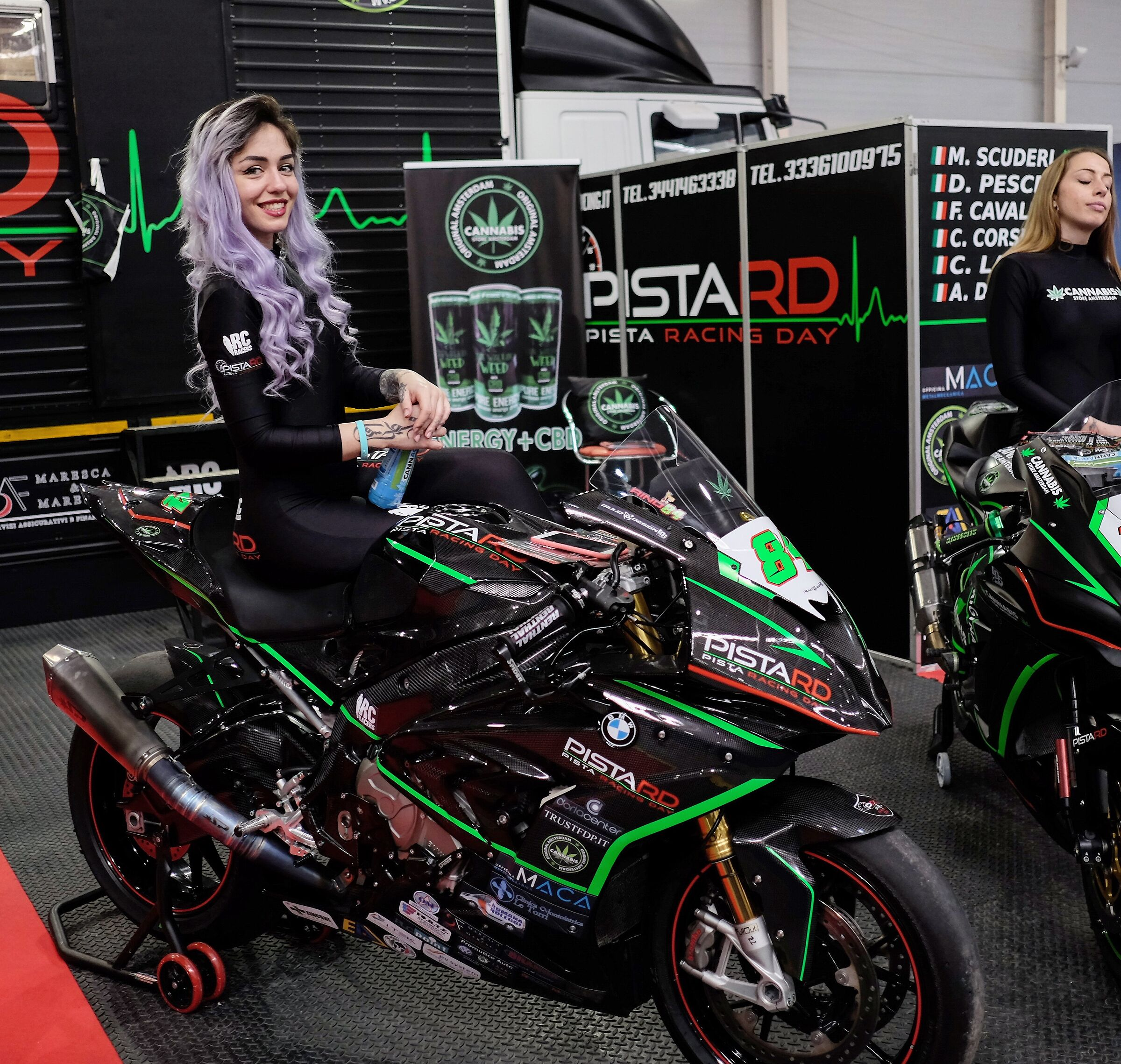 The models of the Motodays...