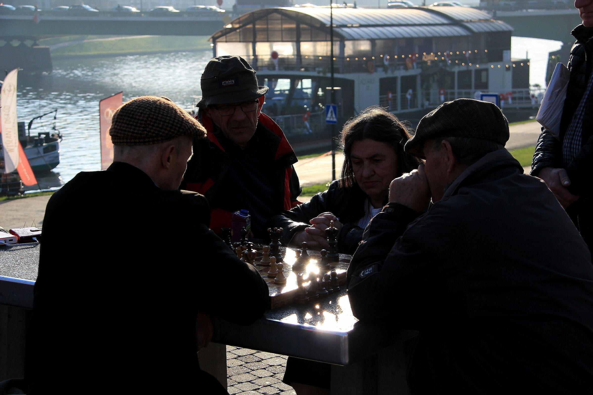 La partita a scacchi...