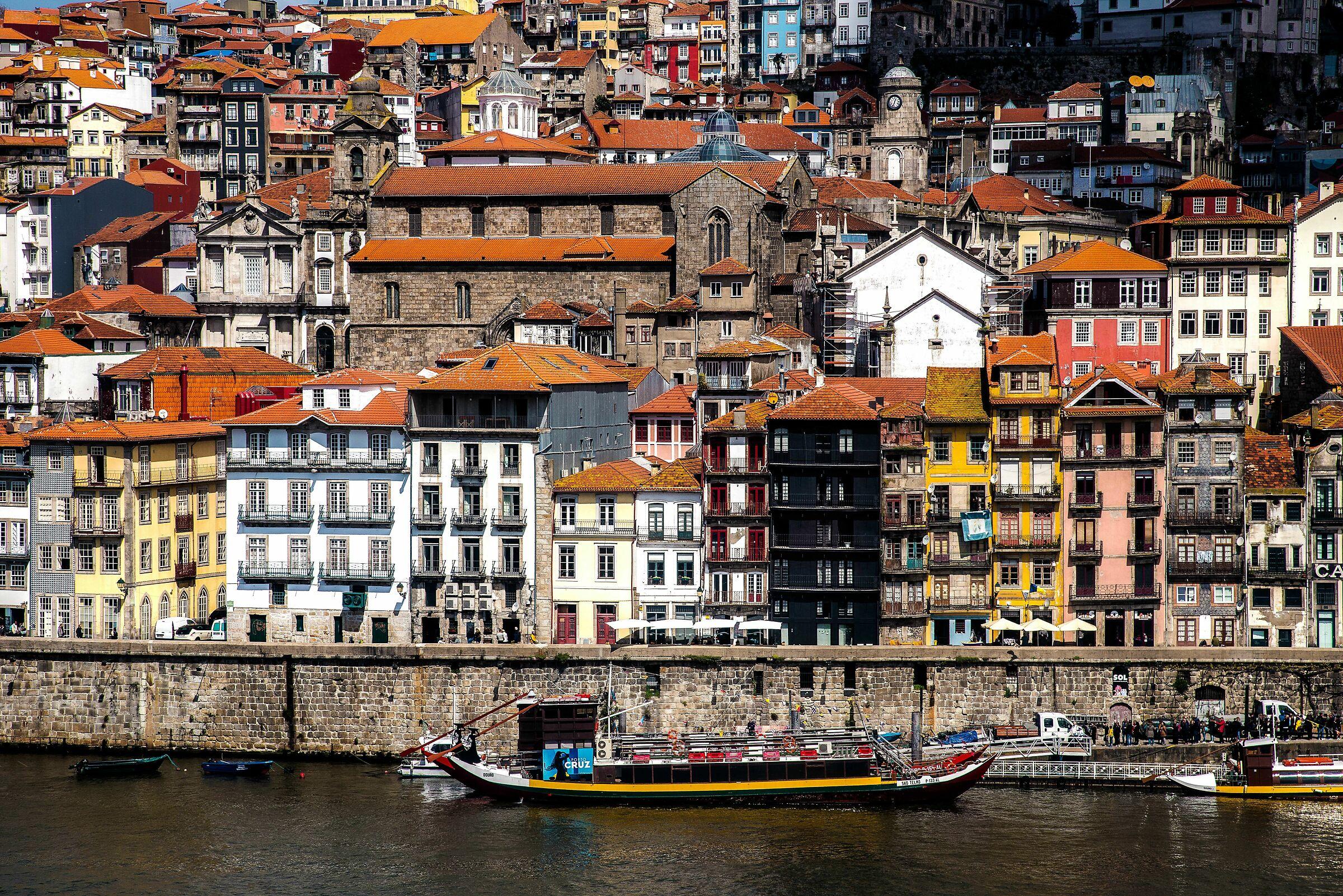 Old neighborhoods City of Porto...