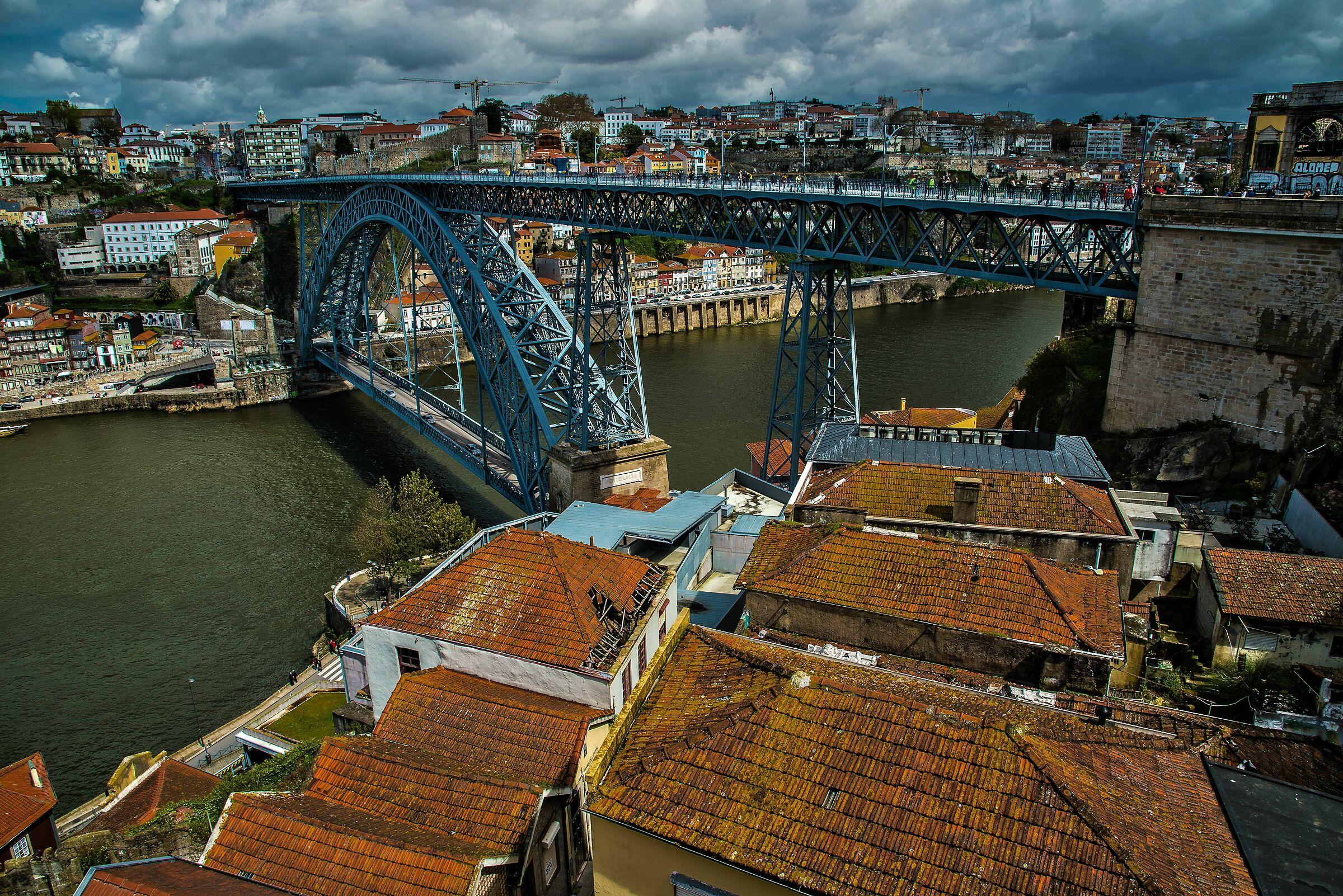 View of the bridge...