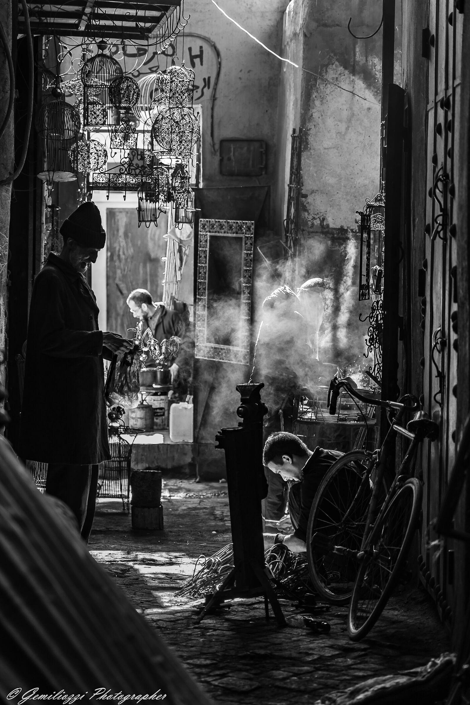 Souk of Marrakech...