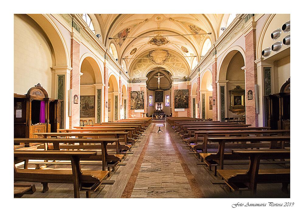 The Church of San Giacomo in Spino D'adda...