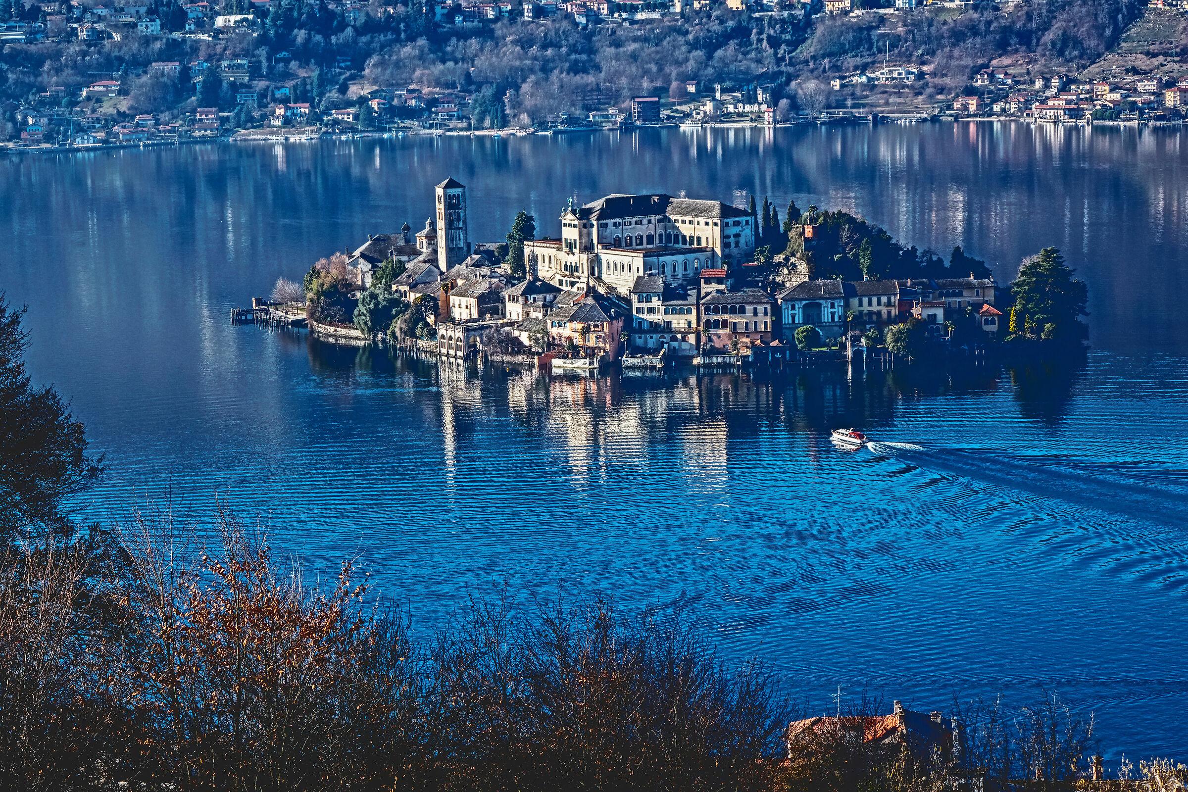 Island of San Giulio (Lago D'orta)...
