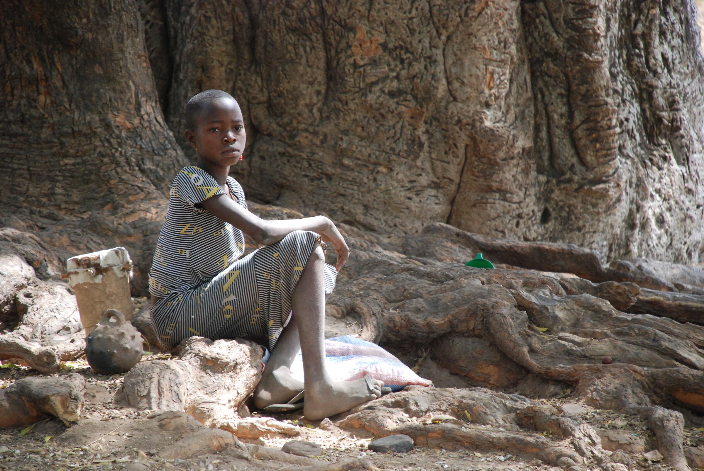 Village, Togo...