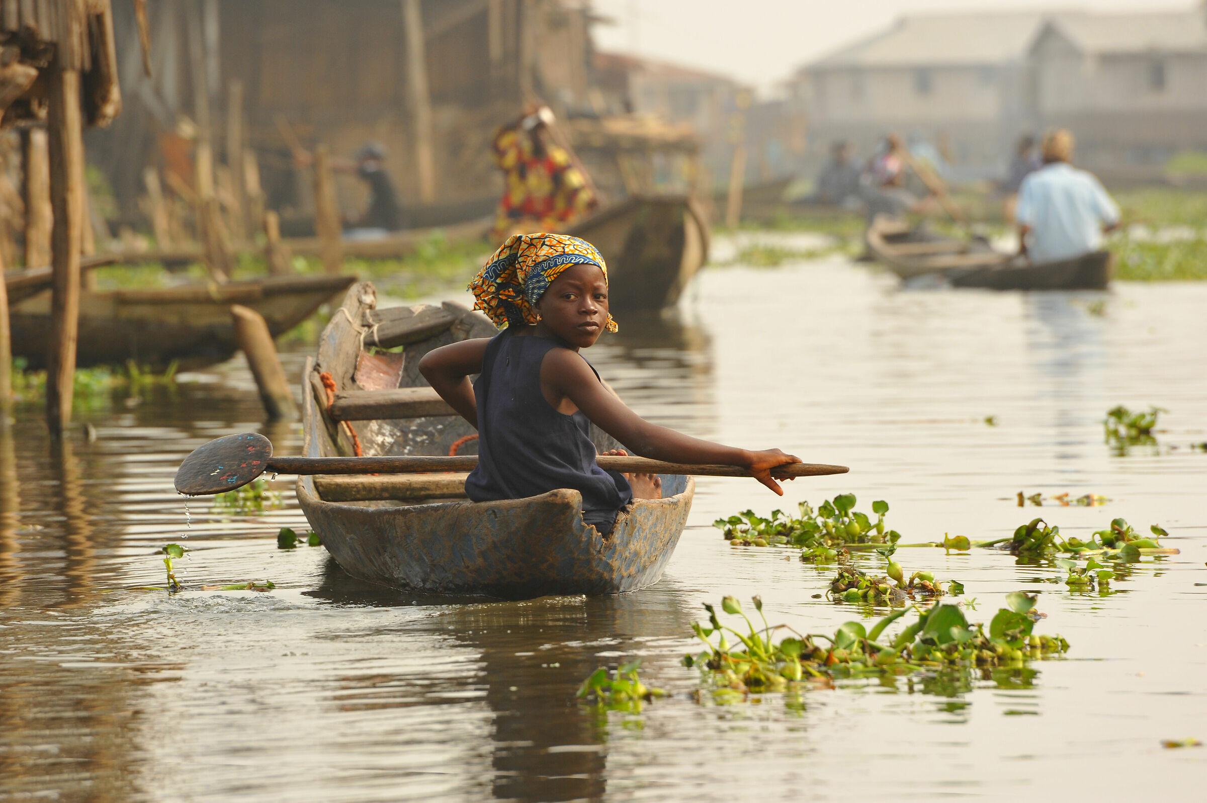 Ganvié, Benin...
