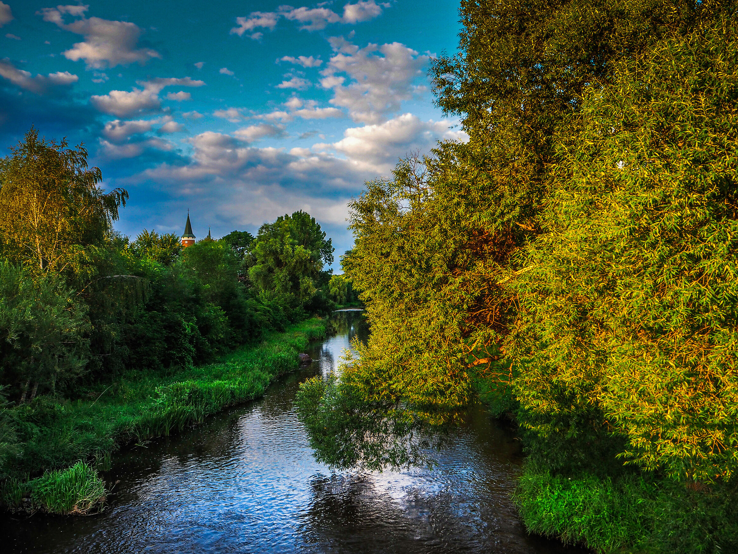 A summer walk around Drzewica...