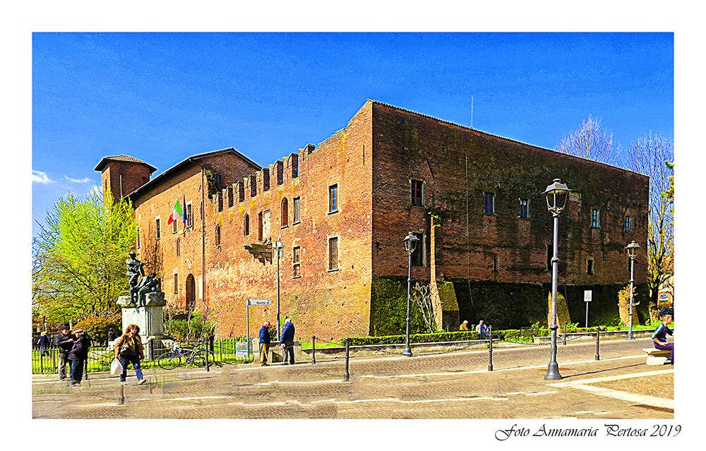 Il Castello Visconteo di Binasco...