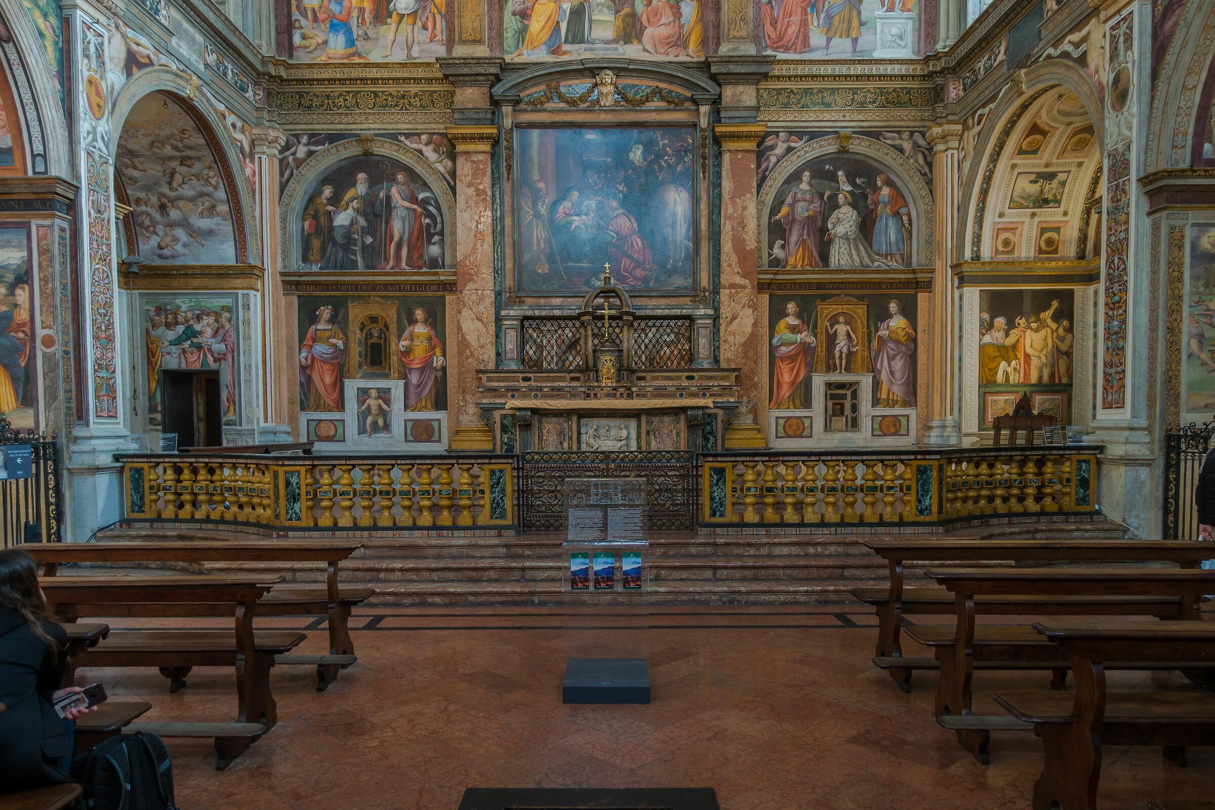 San Maurizio to the Main Monastery...