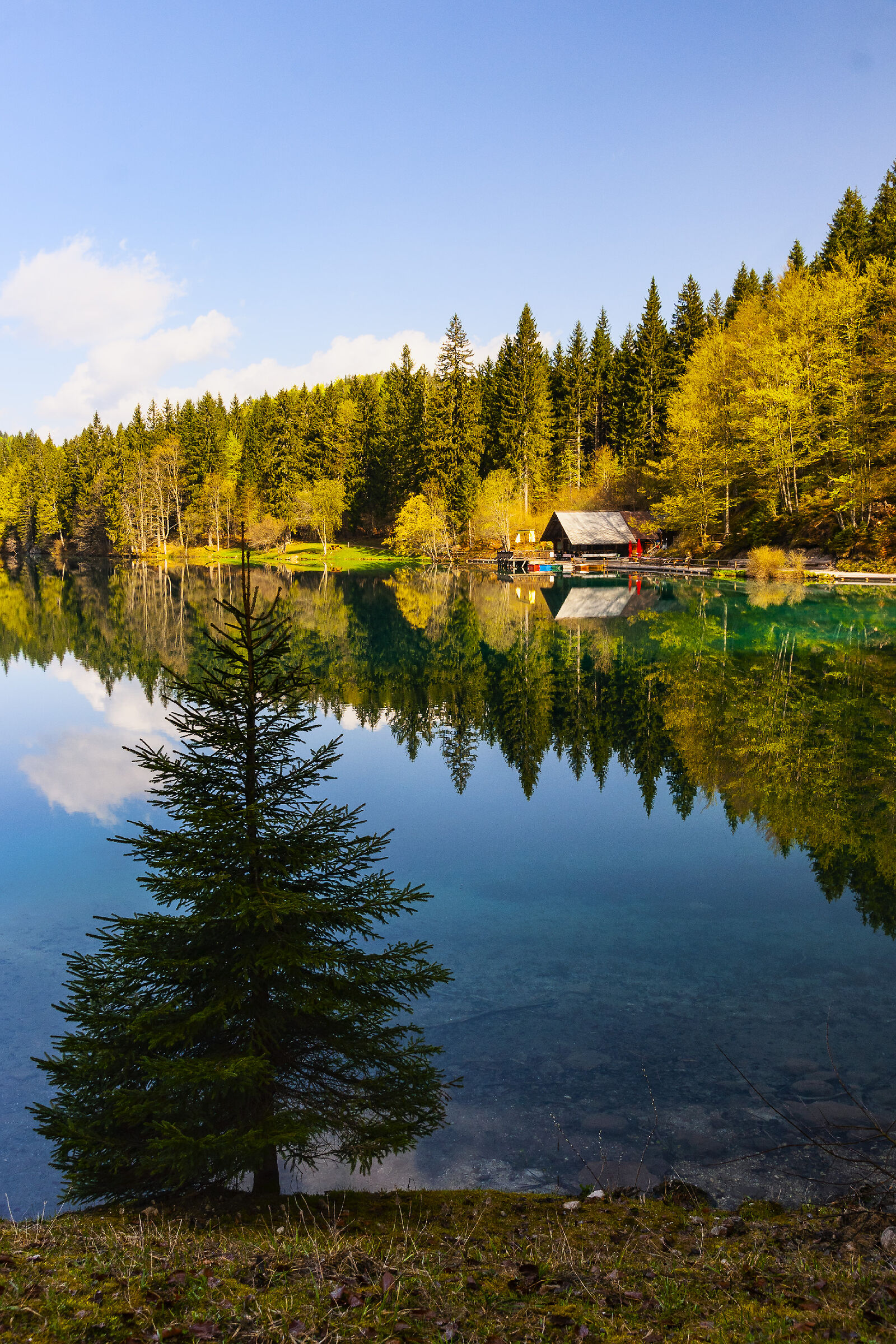Fusine lago inferiore...