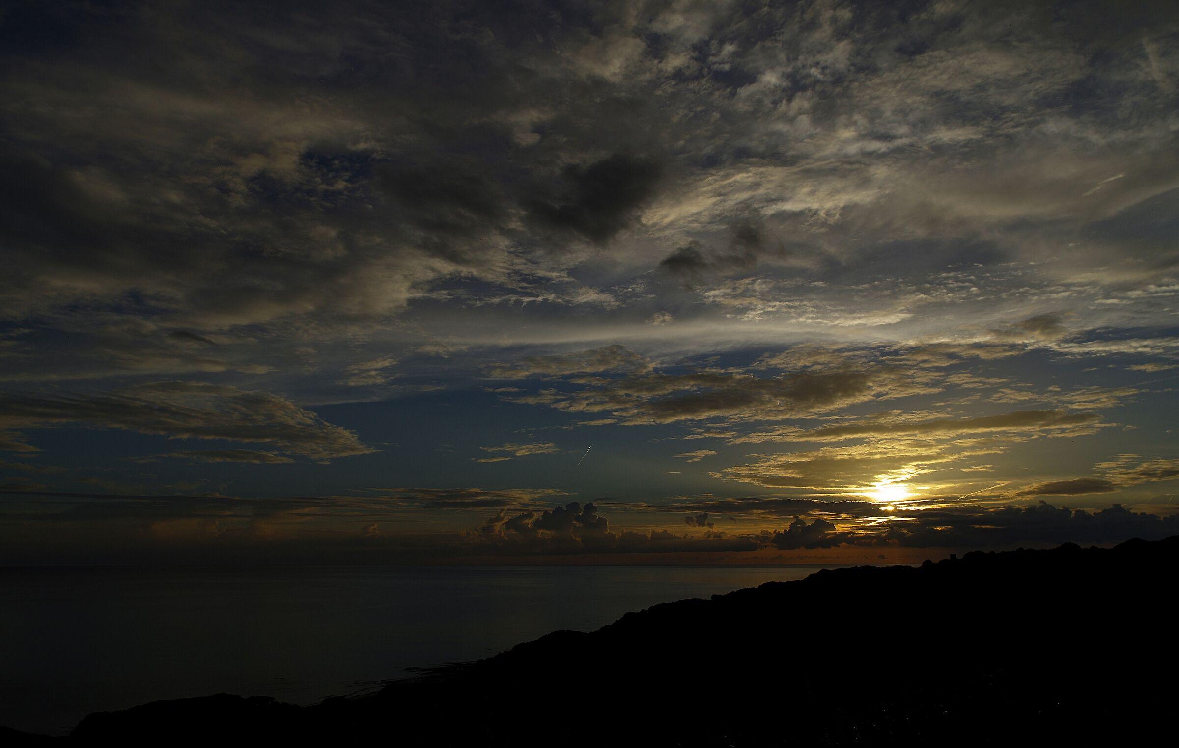 Sunset after Bosa...
