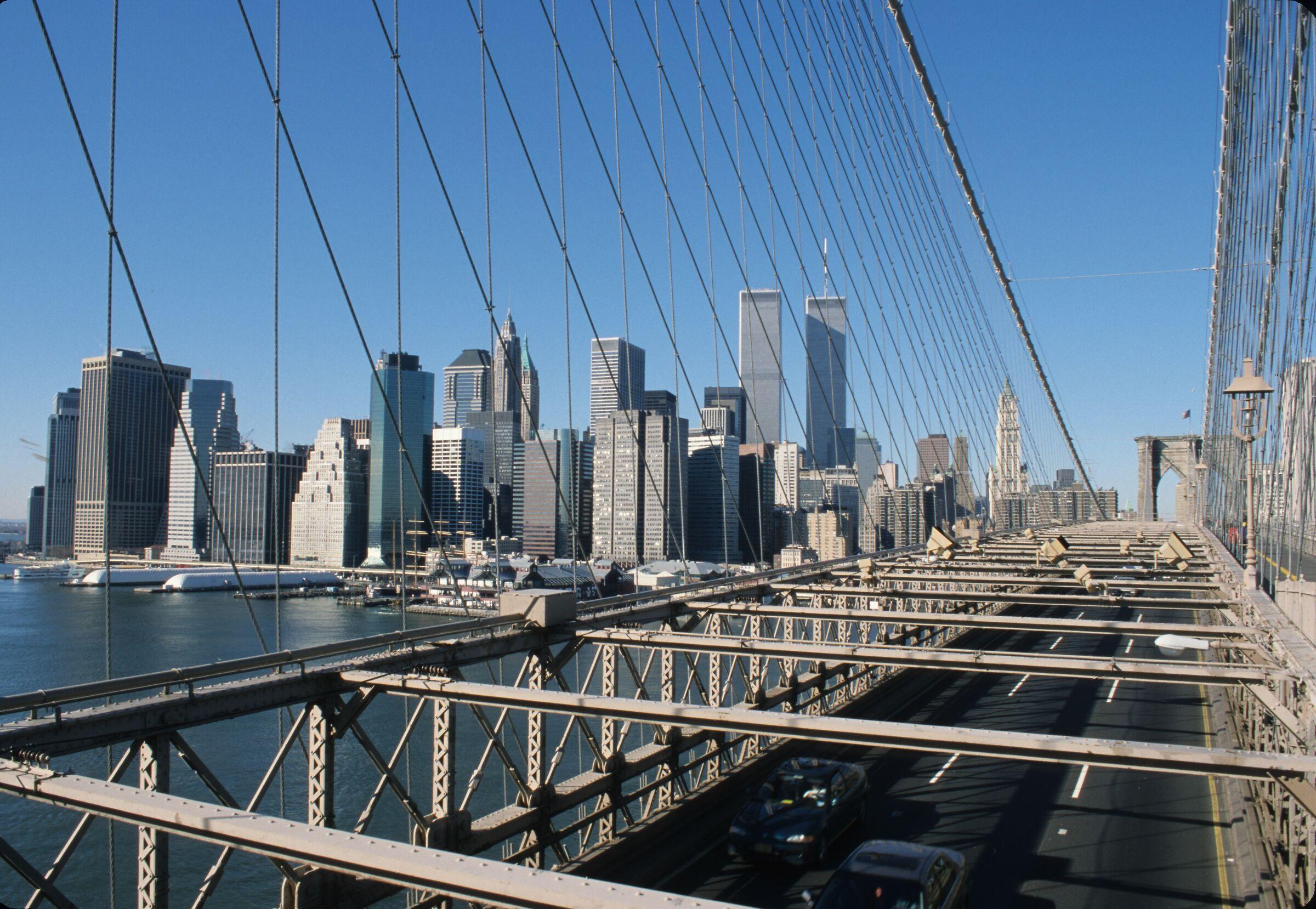 Brooklyn Bridge before 9/11/2001...