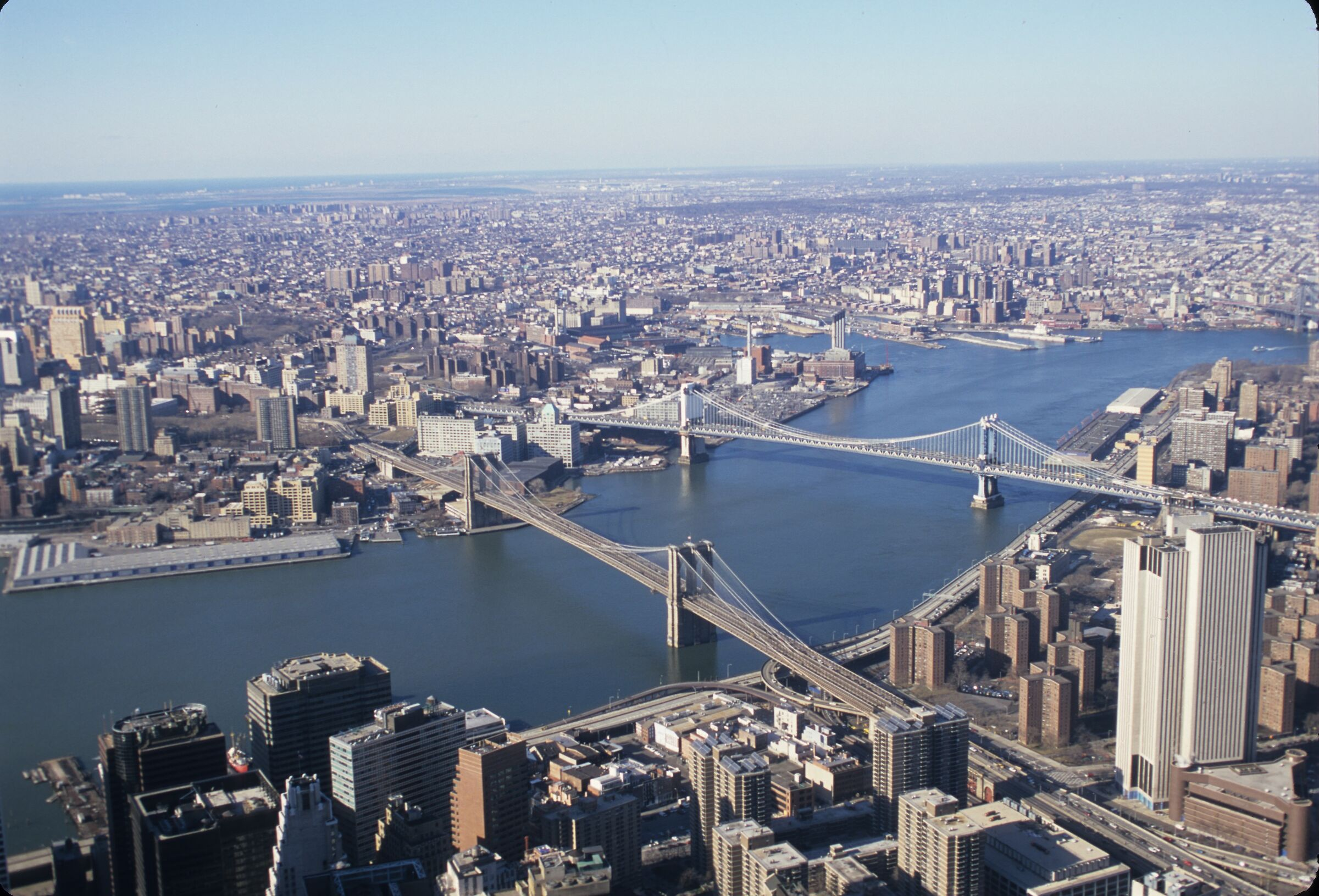 Brooklyn from WTC South Tower February 2001...