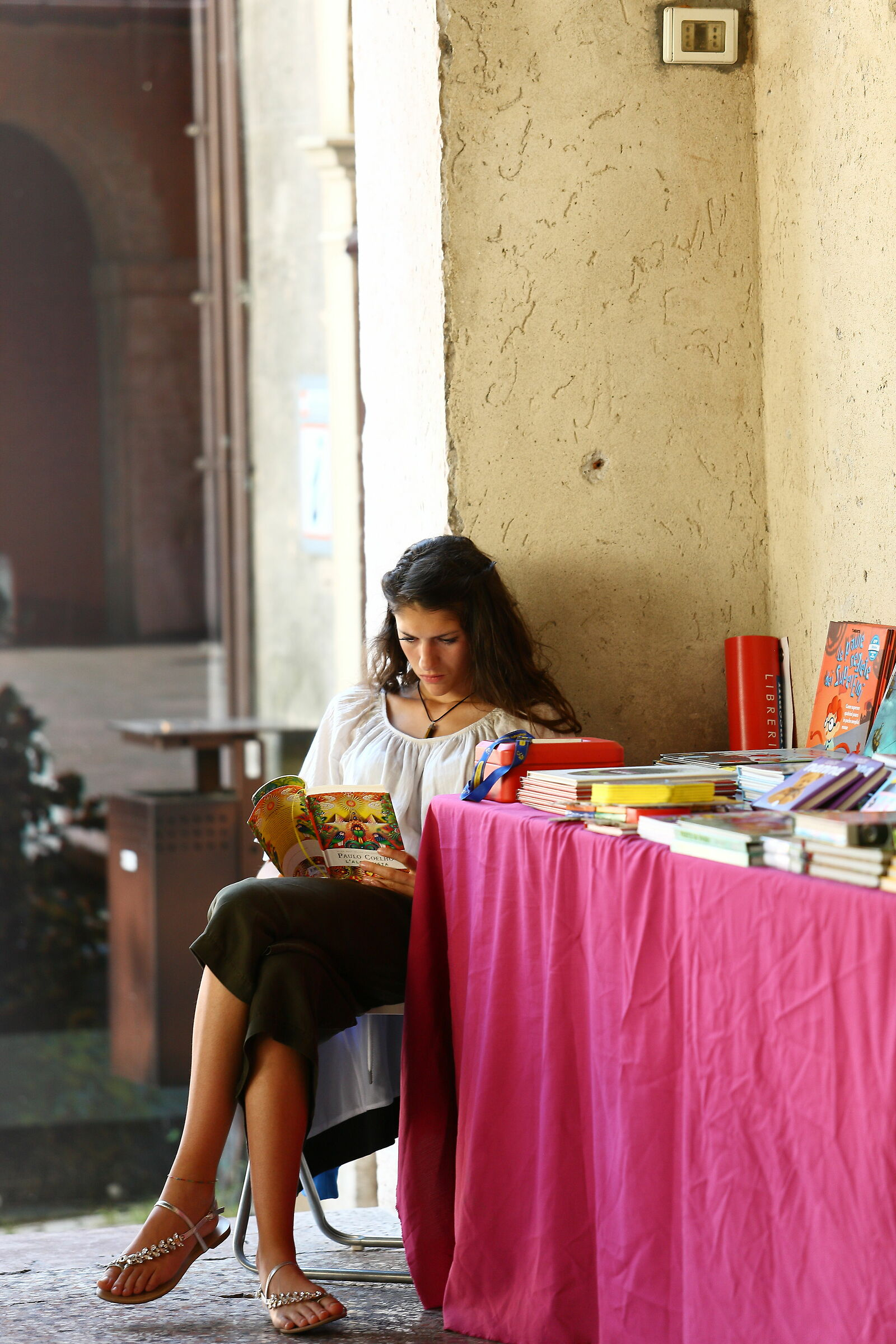 Giovane lettrice...