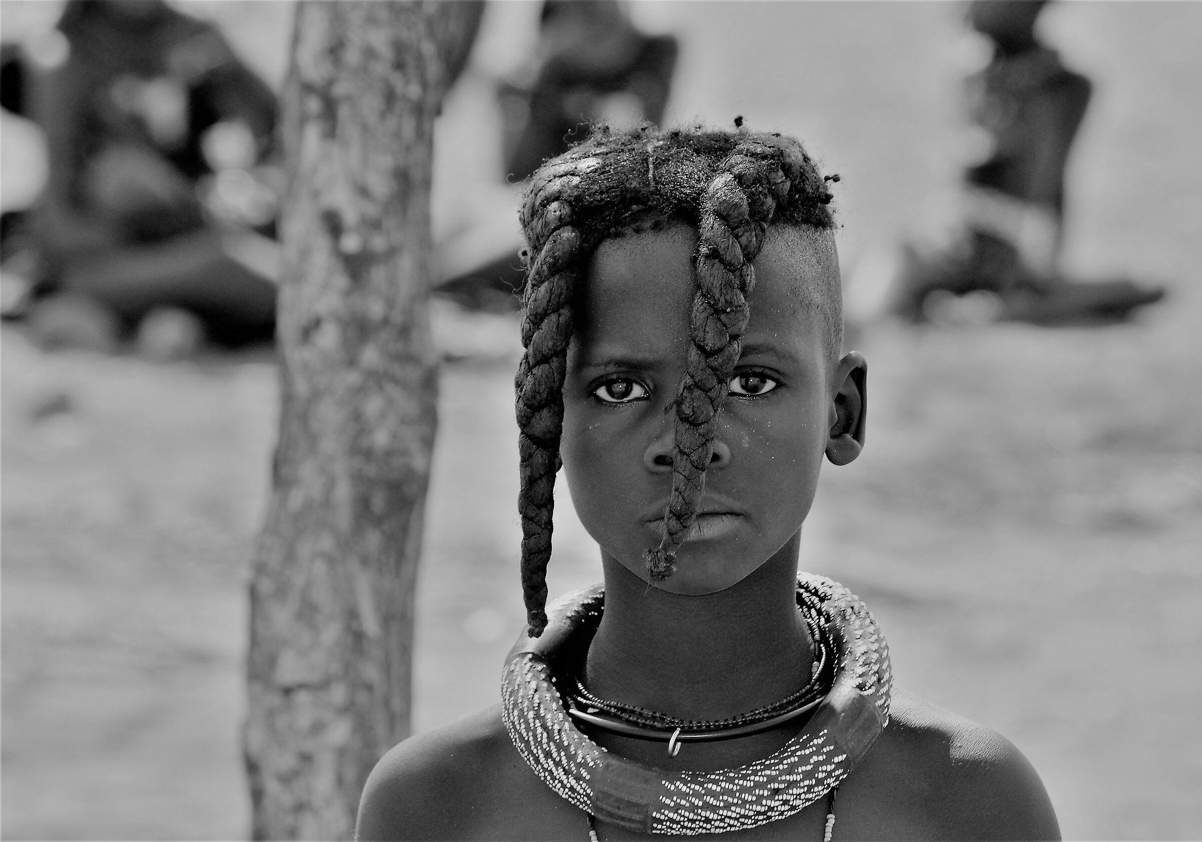 The proud gaze of Africa-Himba ...