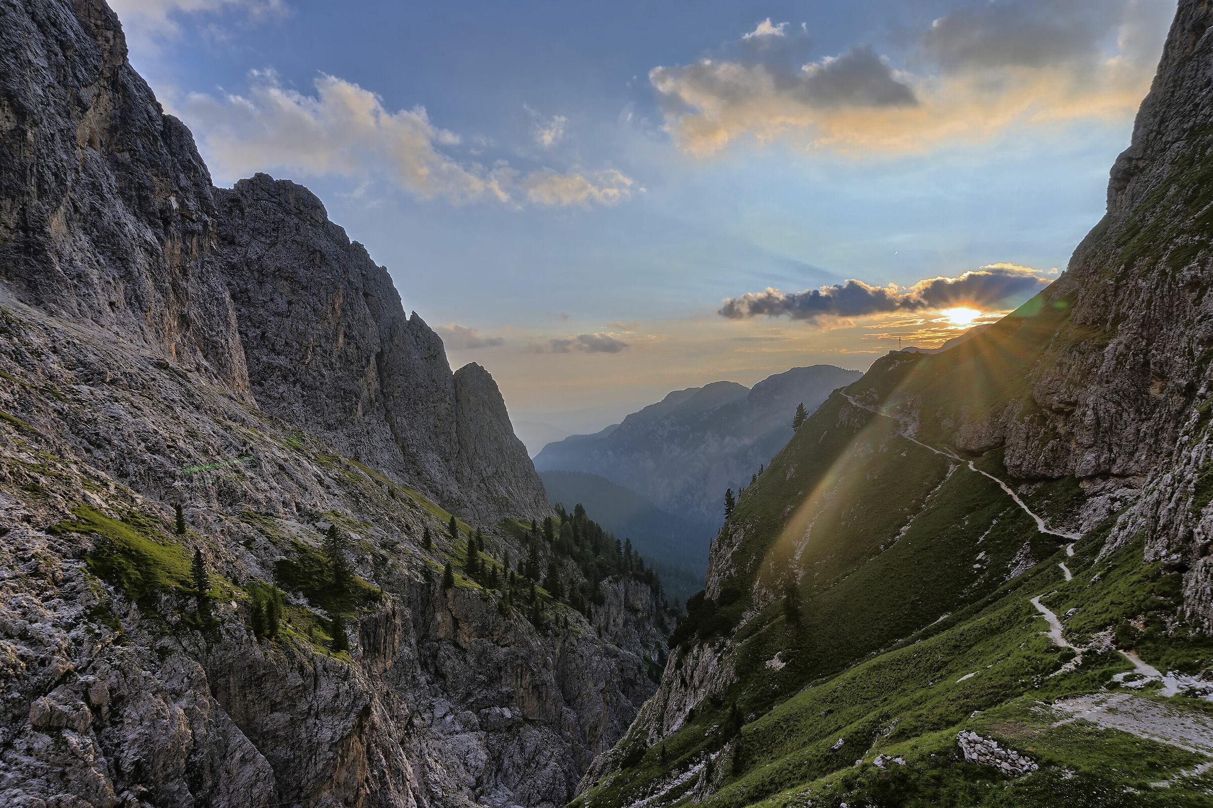 Sunset from Bergamo 2...