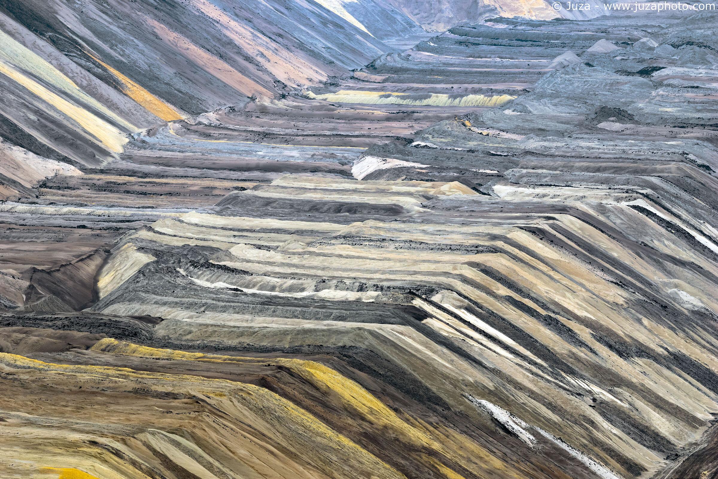 Miniera di Garzweiler, i colori della terra...