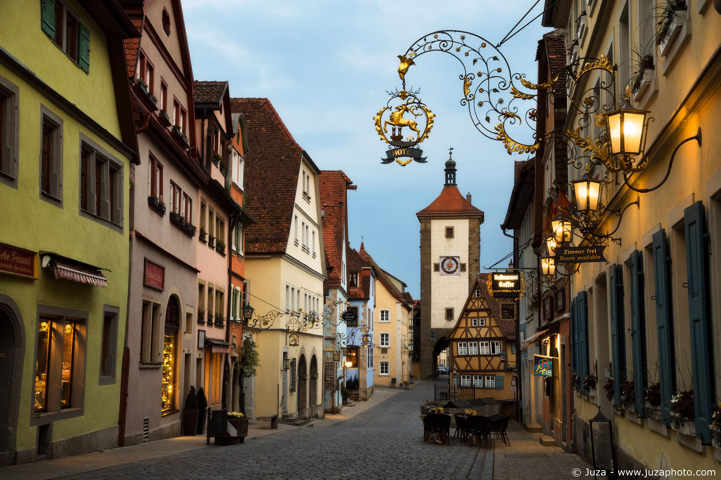 Rothenburg ob der Tauber...