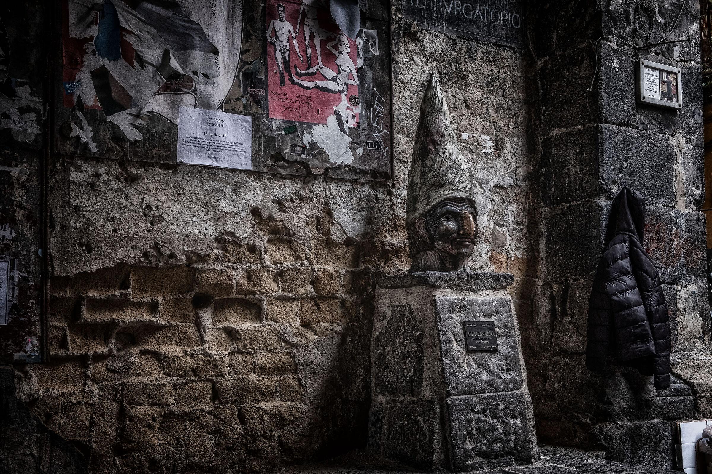 Pulcinella Monument...