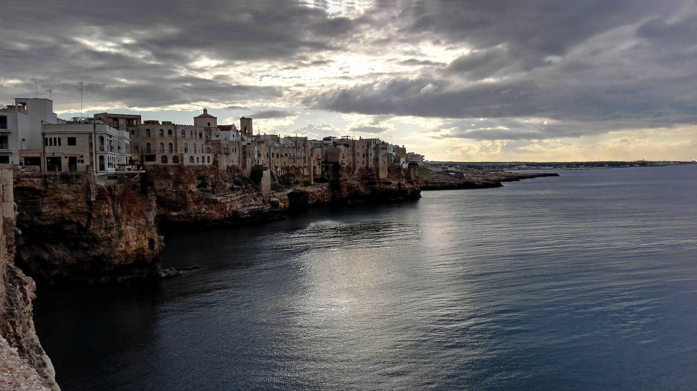 Corners of Puglia. Polignano...