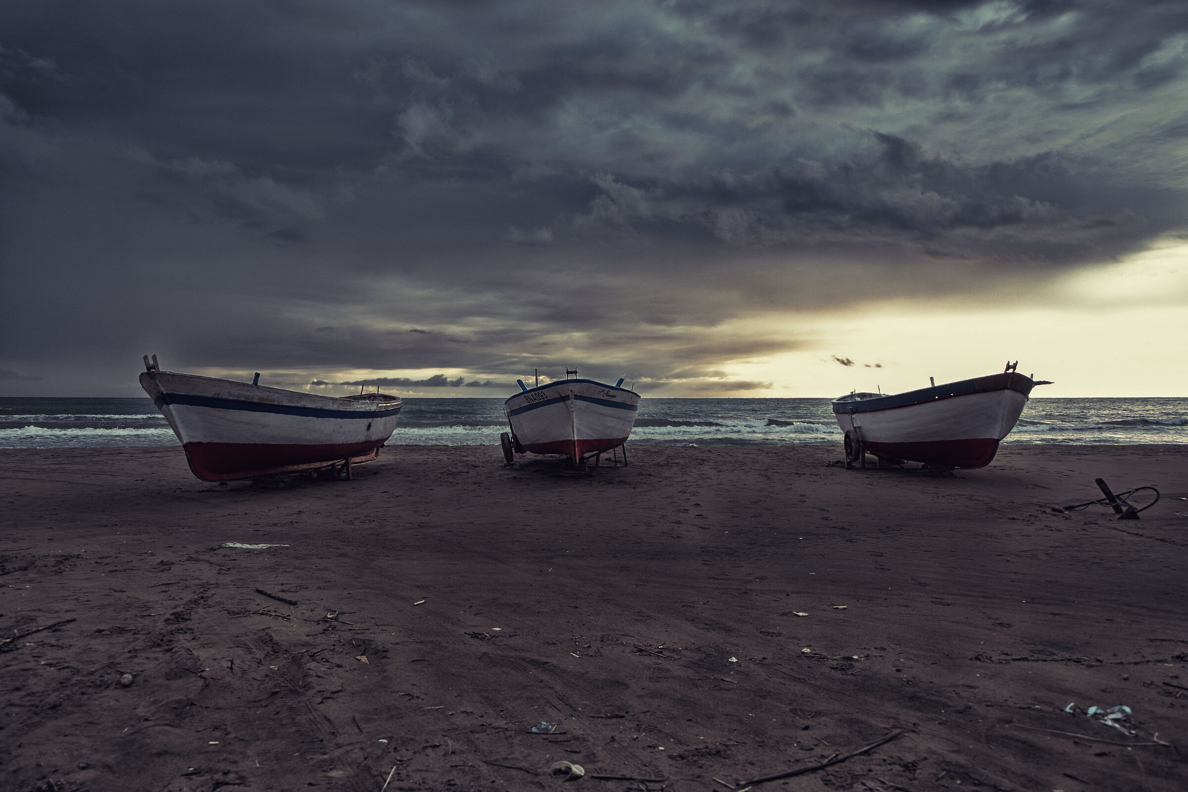 The Dry Boats...