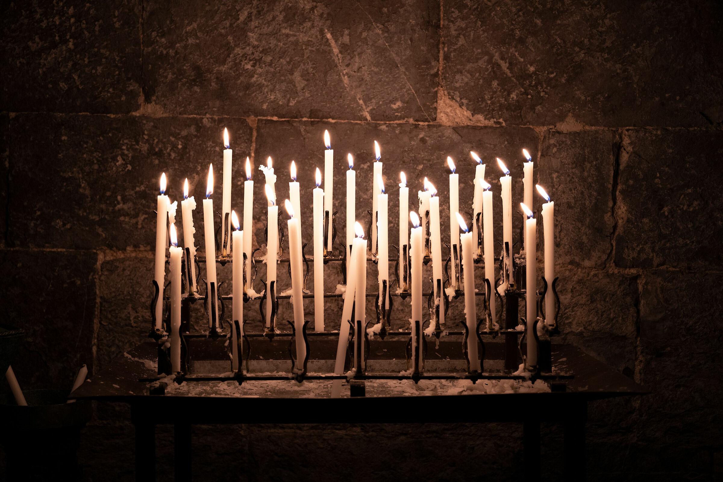candele...