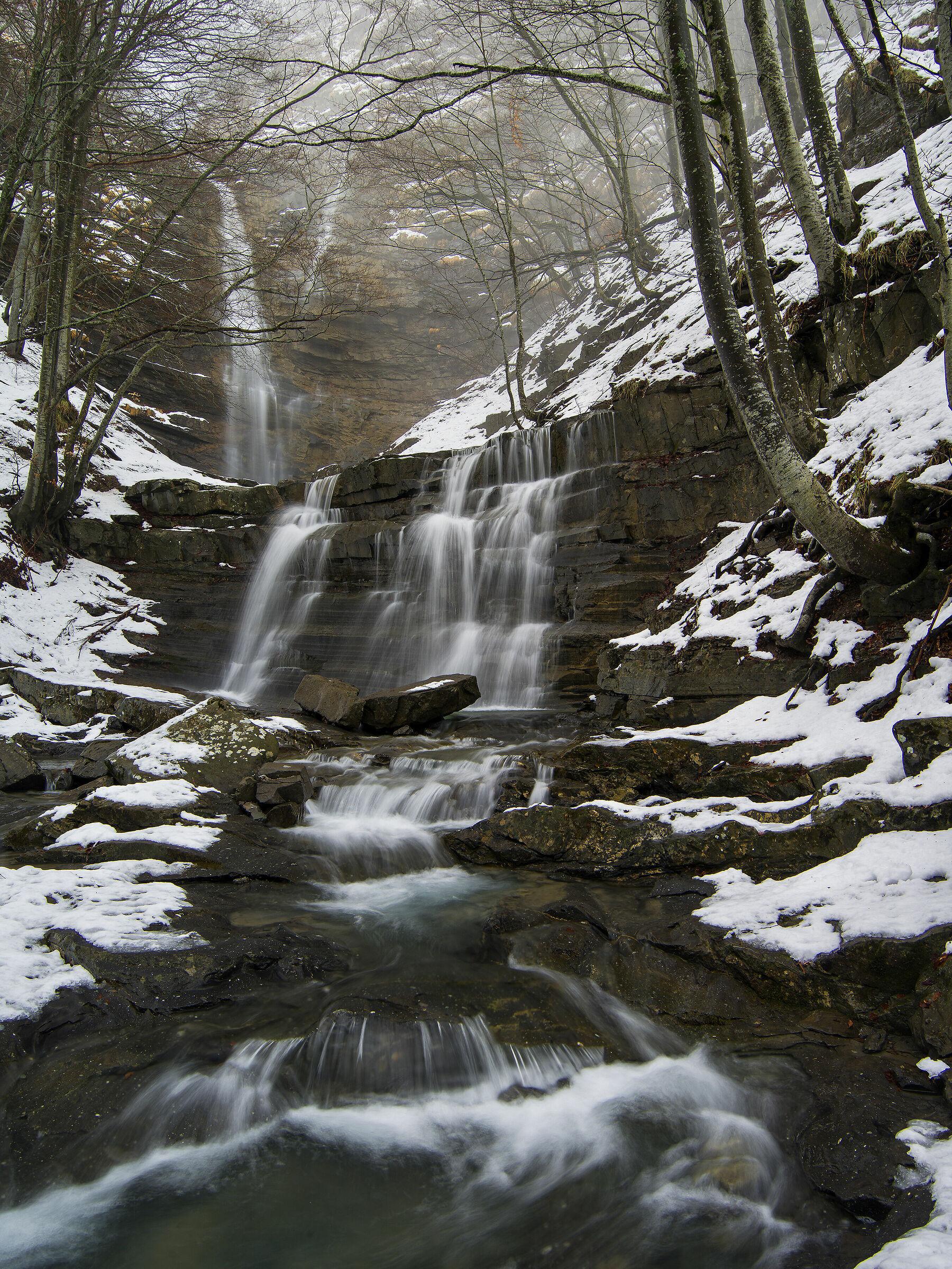 Waterfalls of the Lavacchiello...