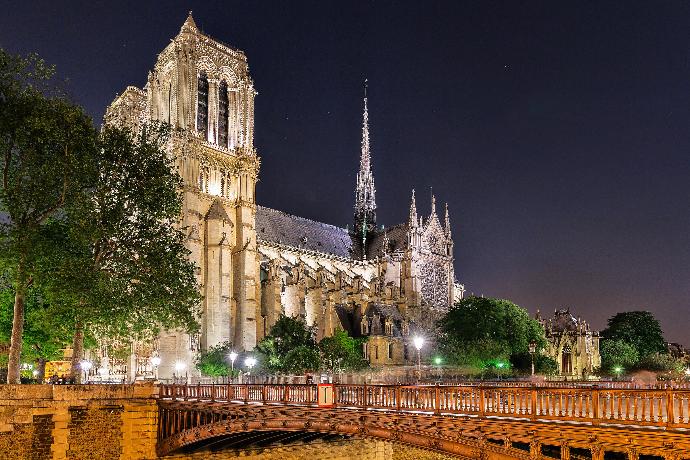Notre Dame Cathedral...