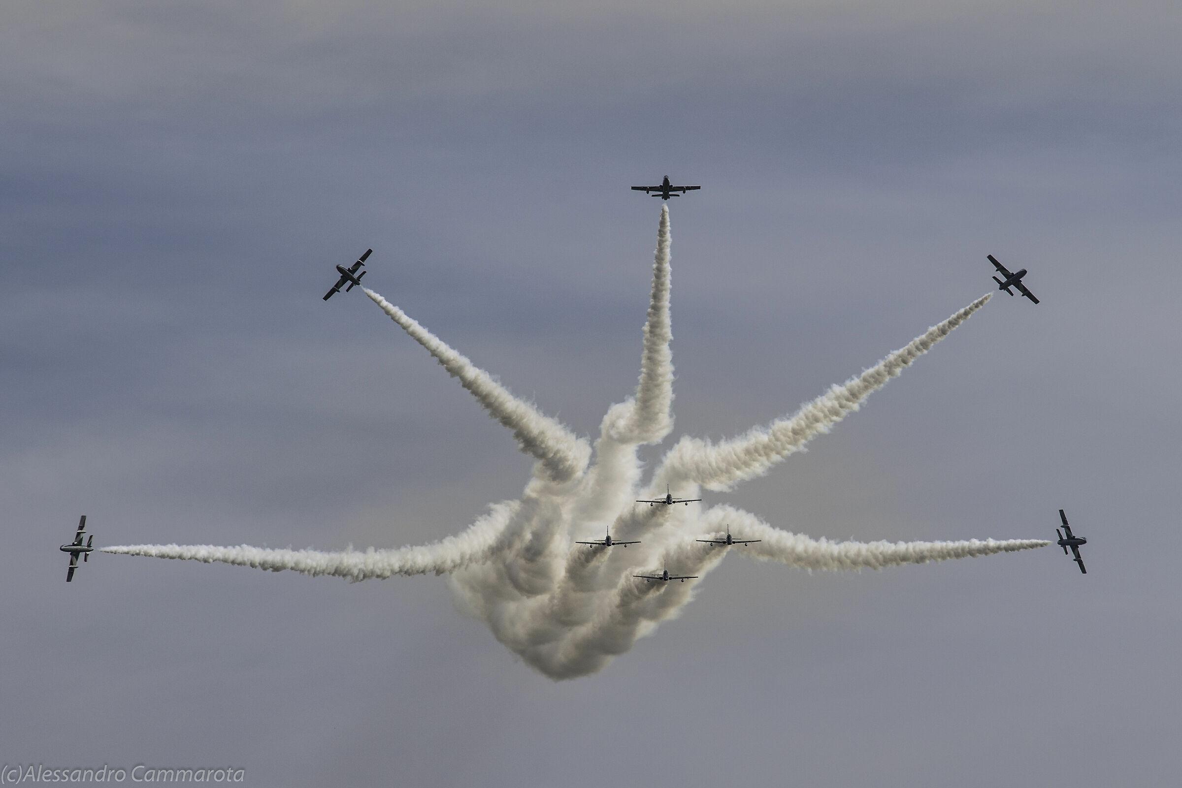 Pattuglia acrobatica Nazionale Aerop. Grazzanise (ce)...