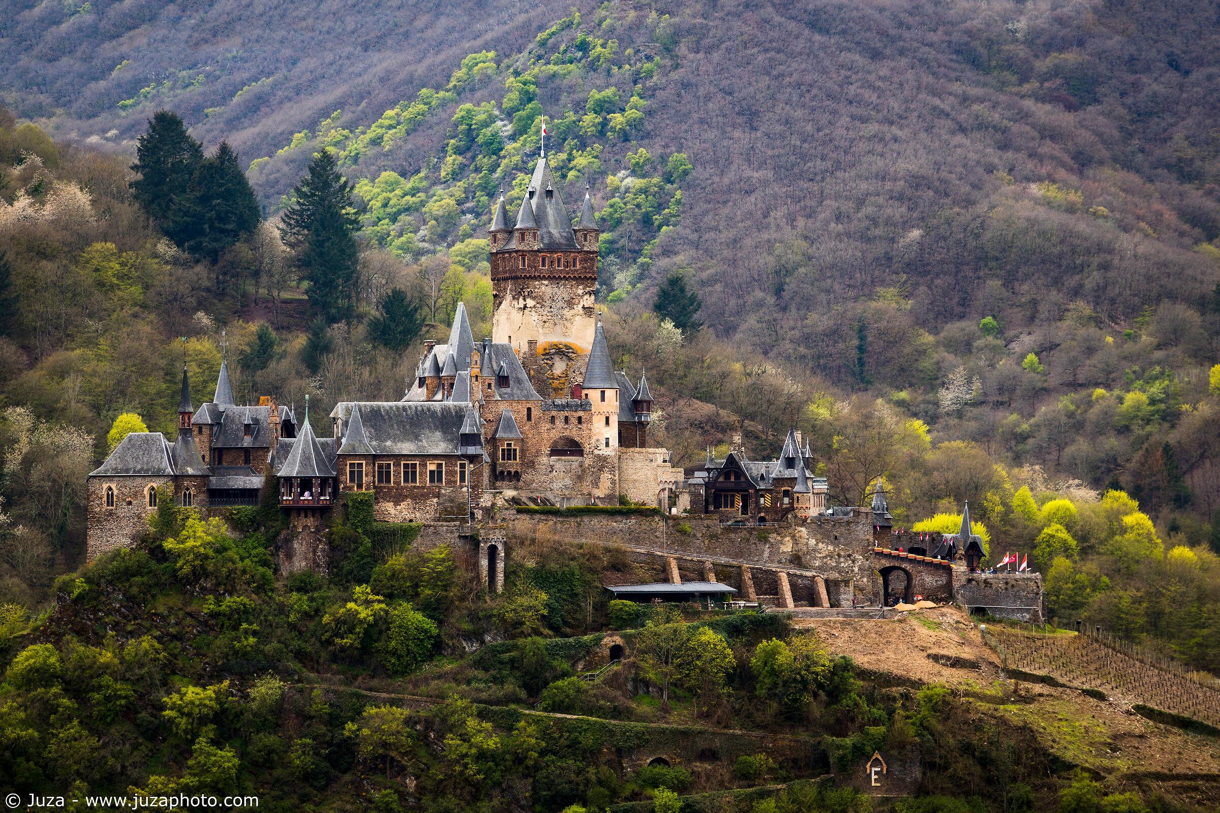 Il castello di Cochem...