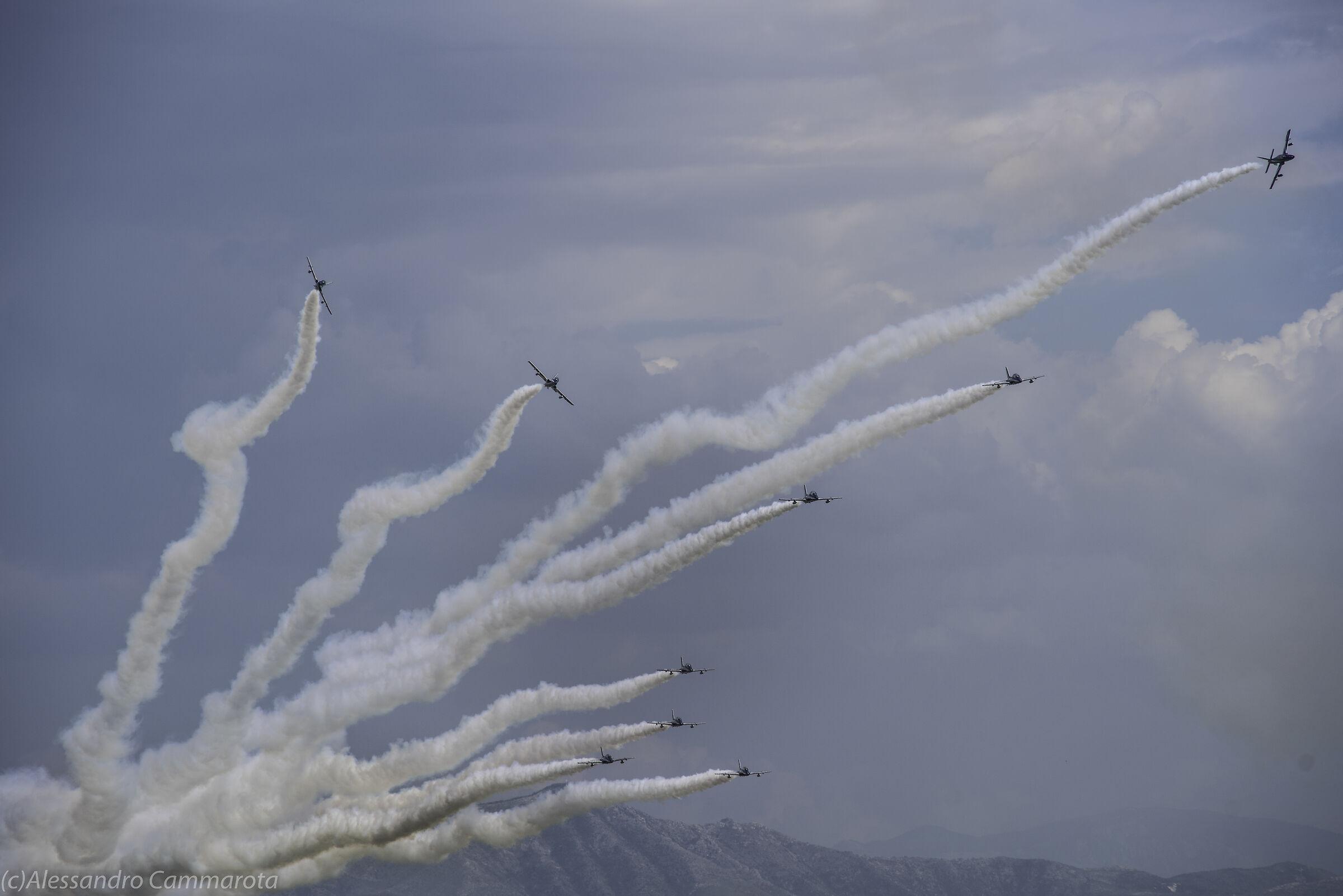 Pattuglia Acrobatica Nazionale Aeroporto Grazzanise...